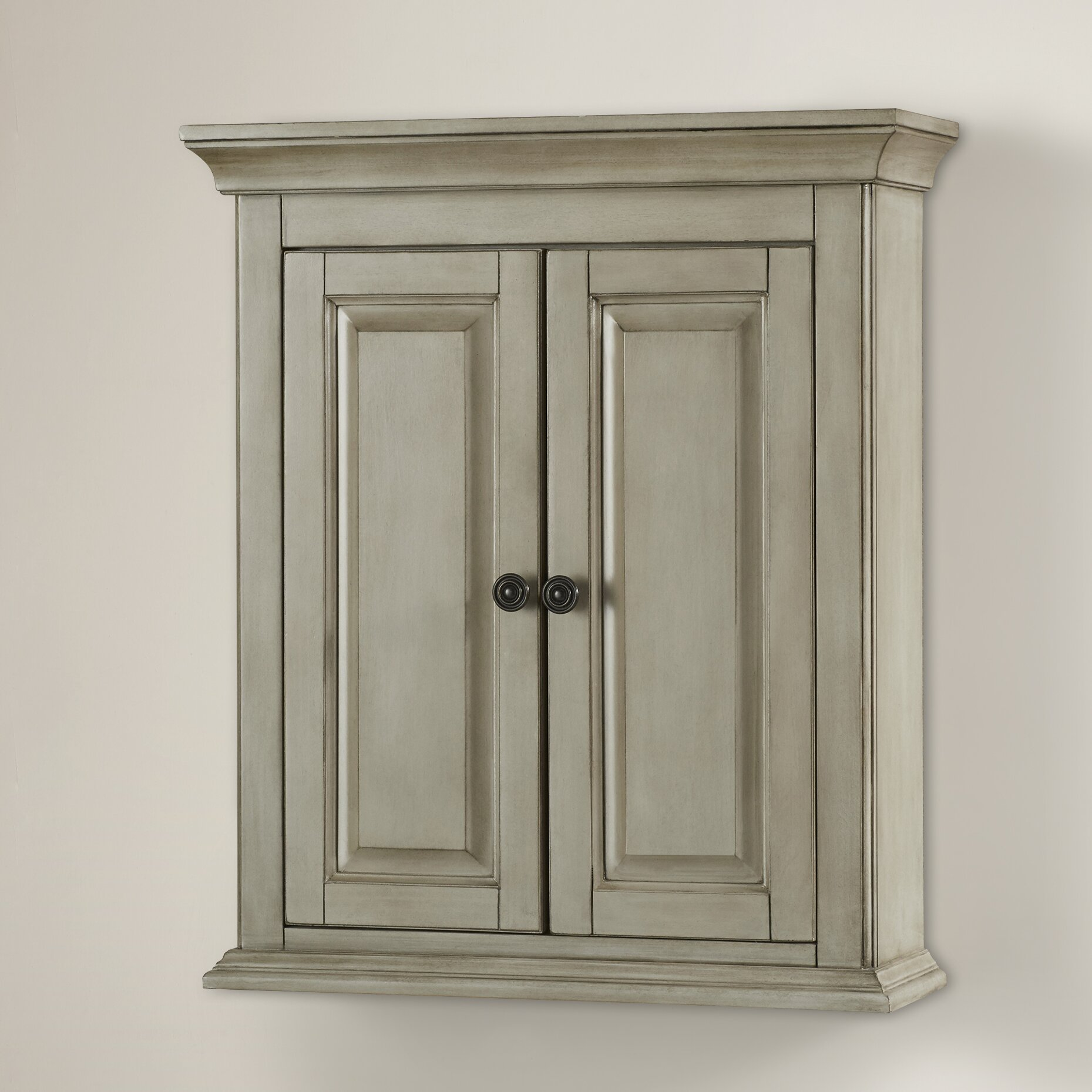 "hazelwood home palmo 24"" w x 28"" h wall mounted cabinet"