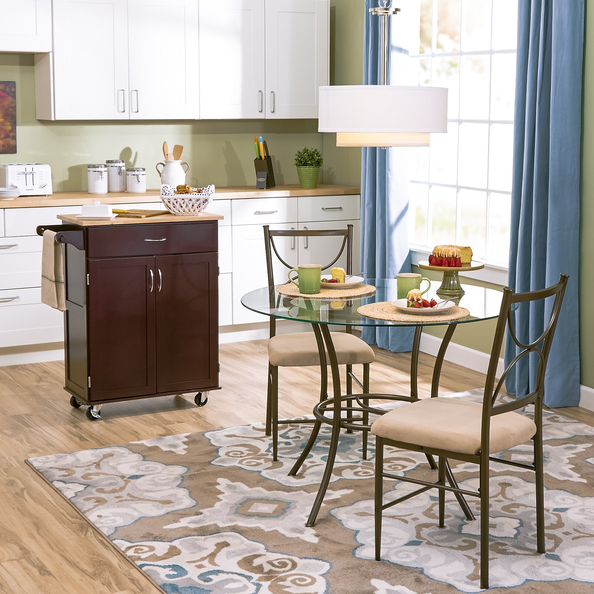 Andover Mills Natural Taupe Area Rug & Reviews