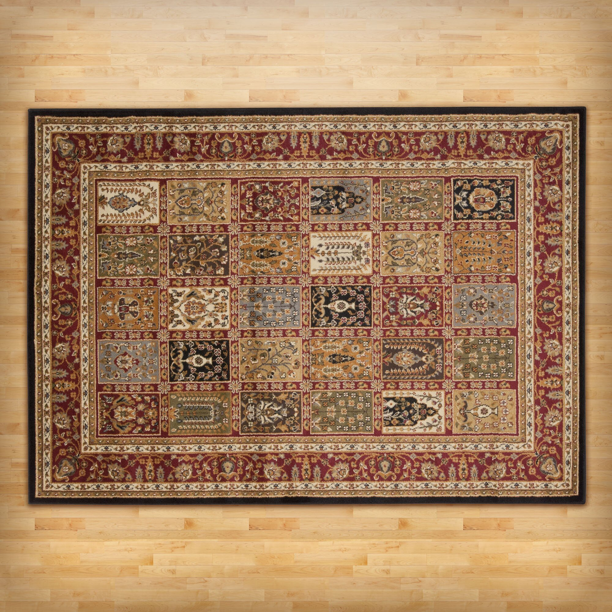 Andover Mills Willis Multi Colored Area Rug Amp Reviews
