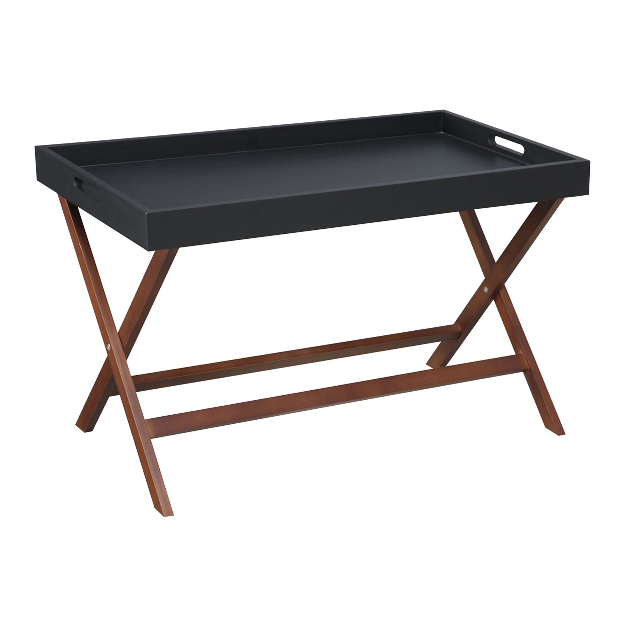 Andover Mills Lockheart Coffee Table With Removable Tray