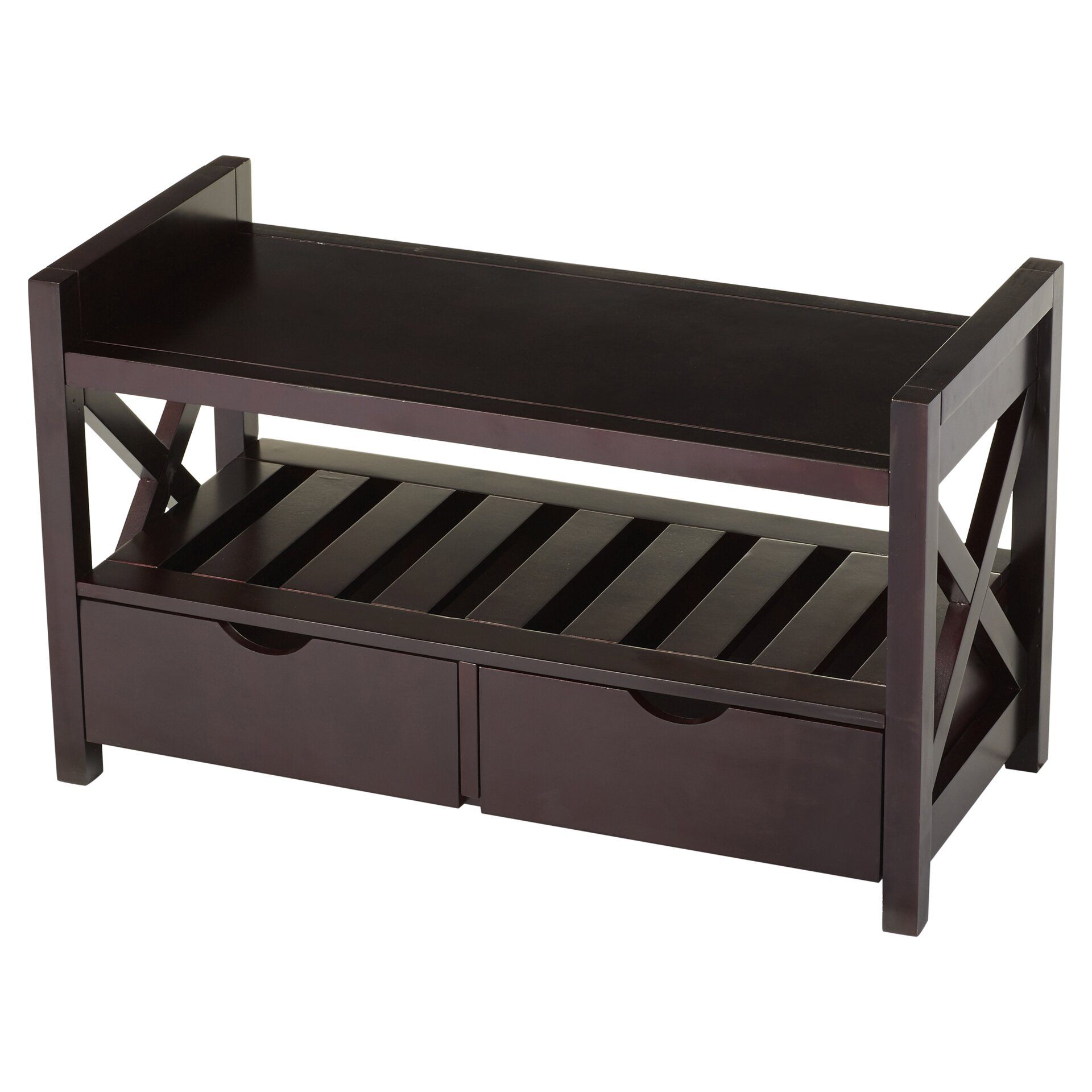 Andover mills cyril storage entryway bench reviews Bench with shelf