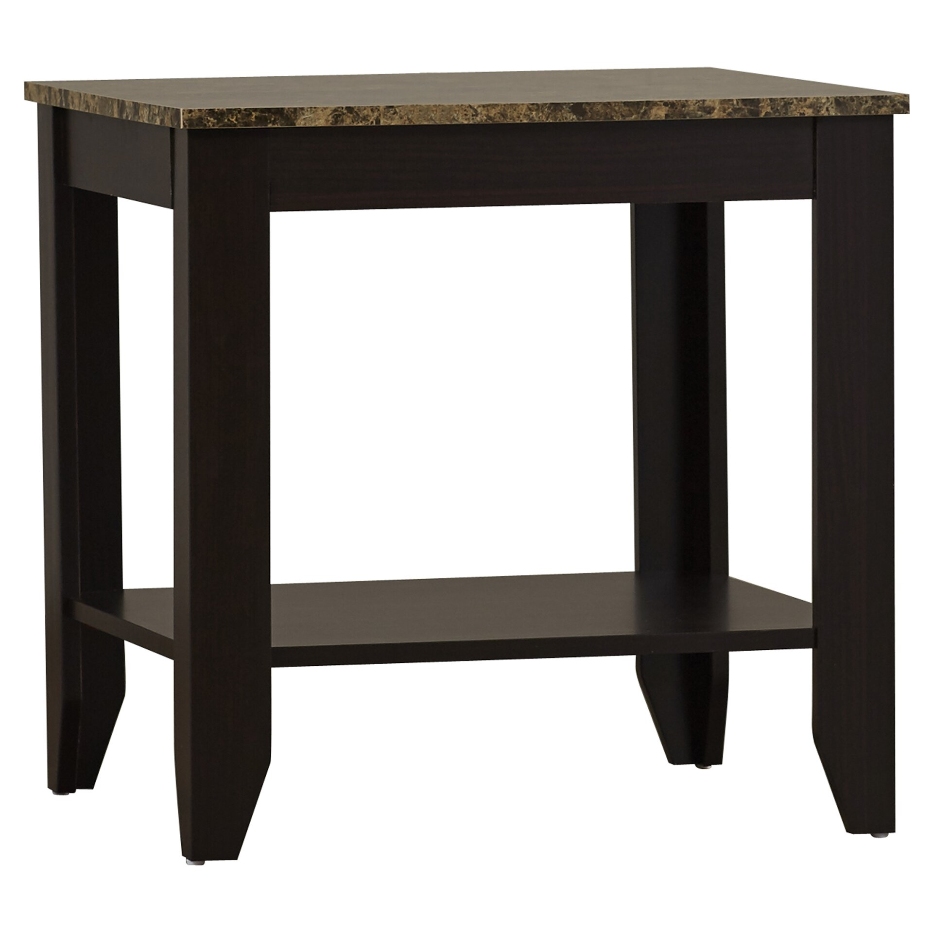 Andover mills josefa 3 piece coffee table set reviews for Coffee tables 3 piece