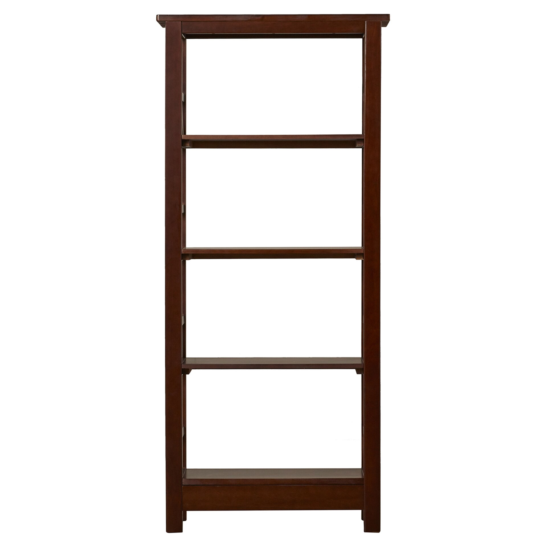 andover mills wilda 54 etagere bookcase reviews wayfair. Black Bedroom Furniture Sets. Home Design Ideas