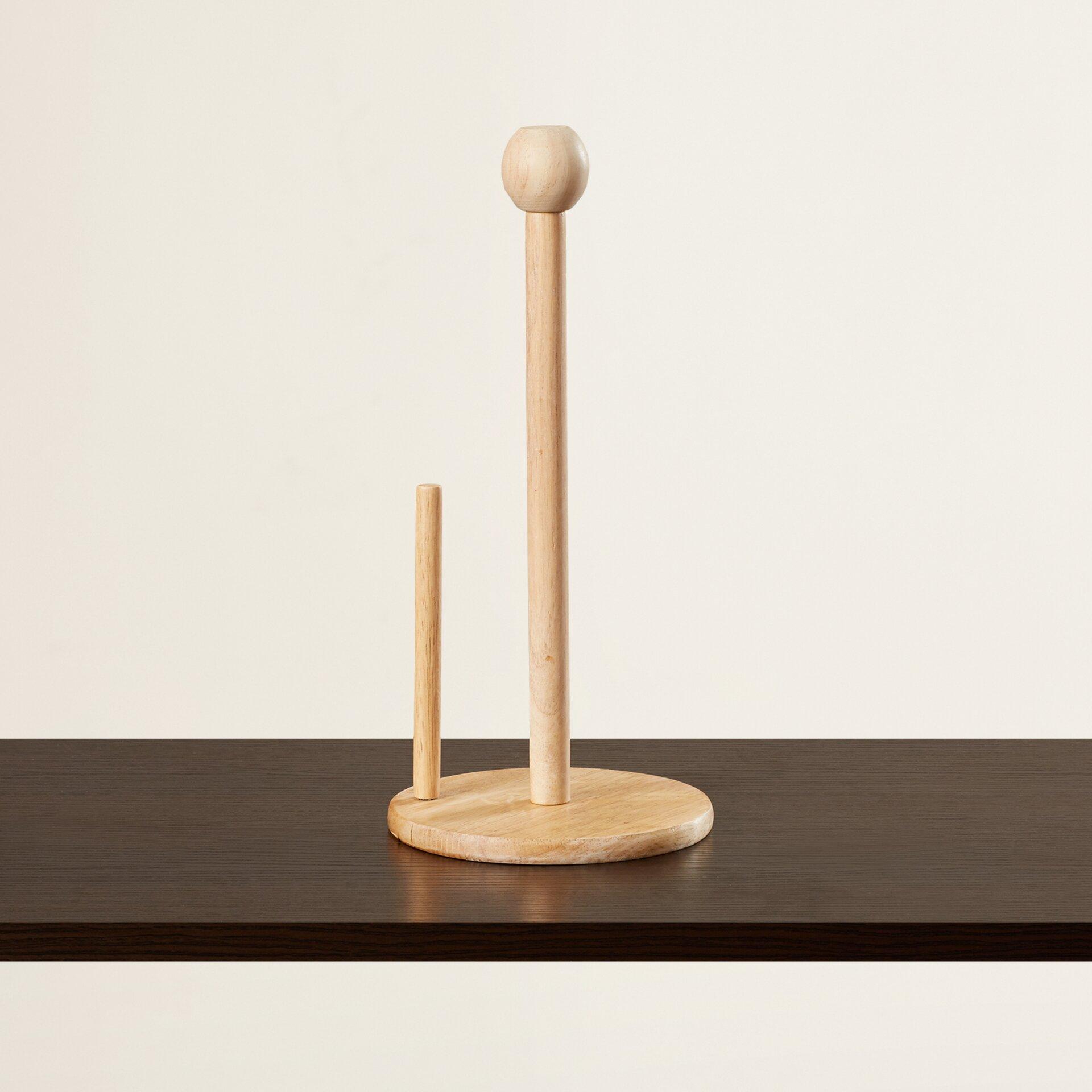 andover mills countertop vertical paper towel holder reviews wayfair. Black Bedroom Furniture Sets. Home Design Ideas