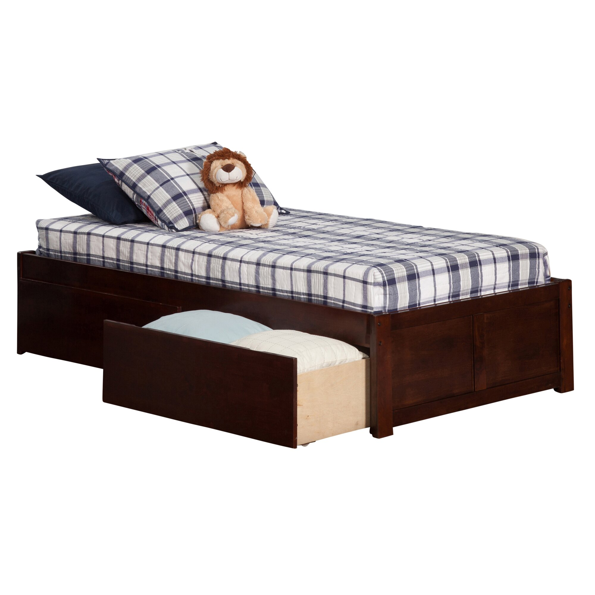 Andover Mills Mackenzie Extra Long Twin Platform Bed With