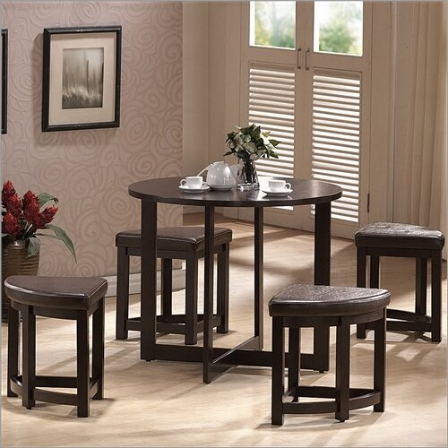 Andover Mills Gradall 5 Piece Dining Table Set Amp Reviews