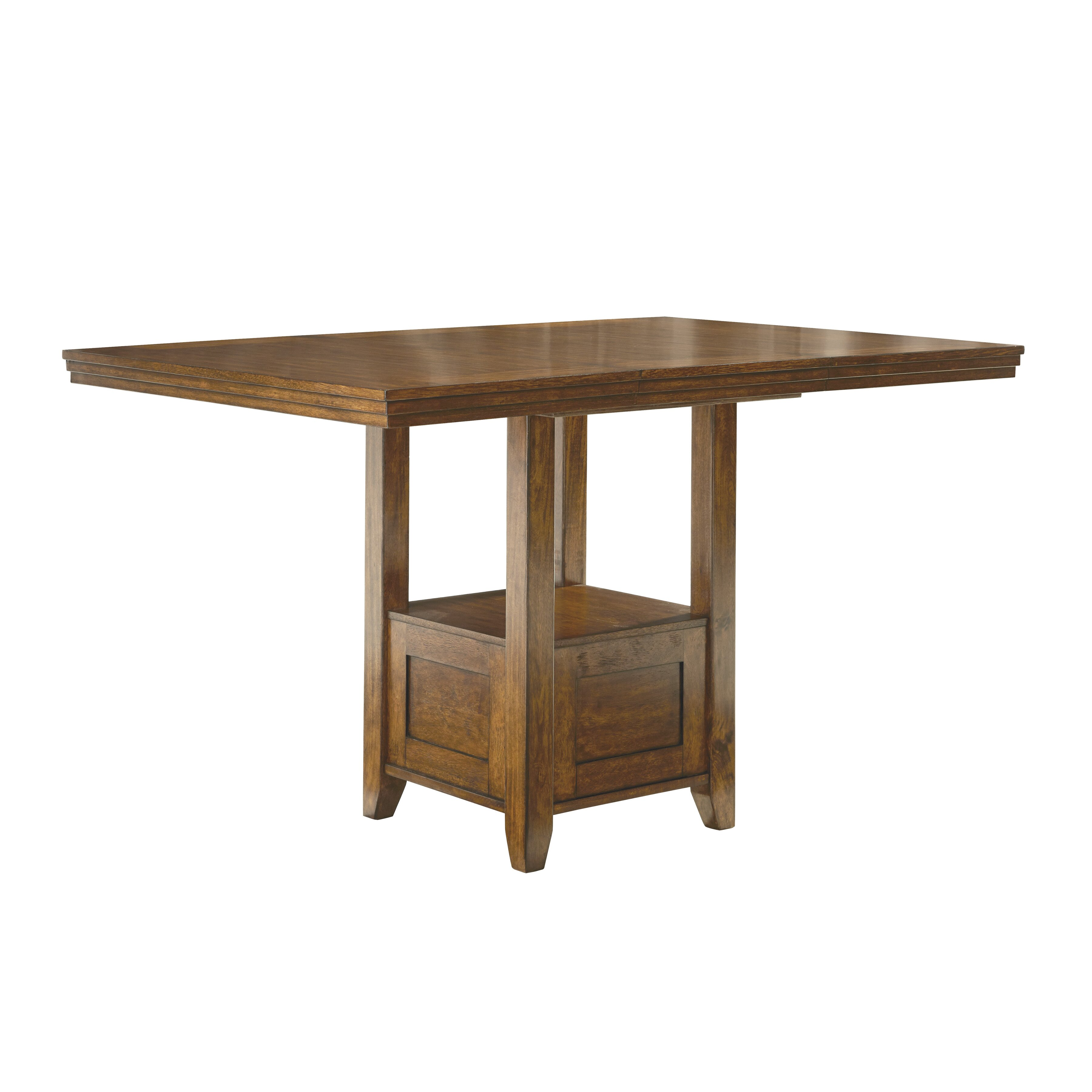 Andover mills rebecca counter height extendable dining for Counter height extendable dining table