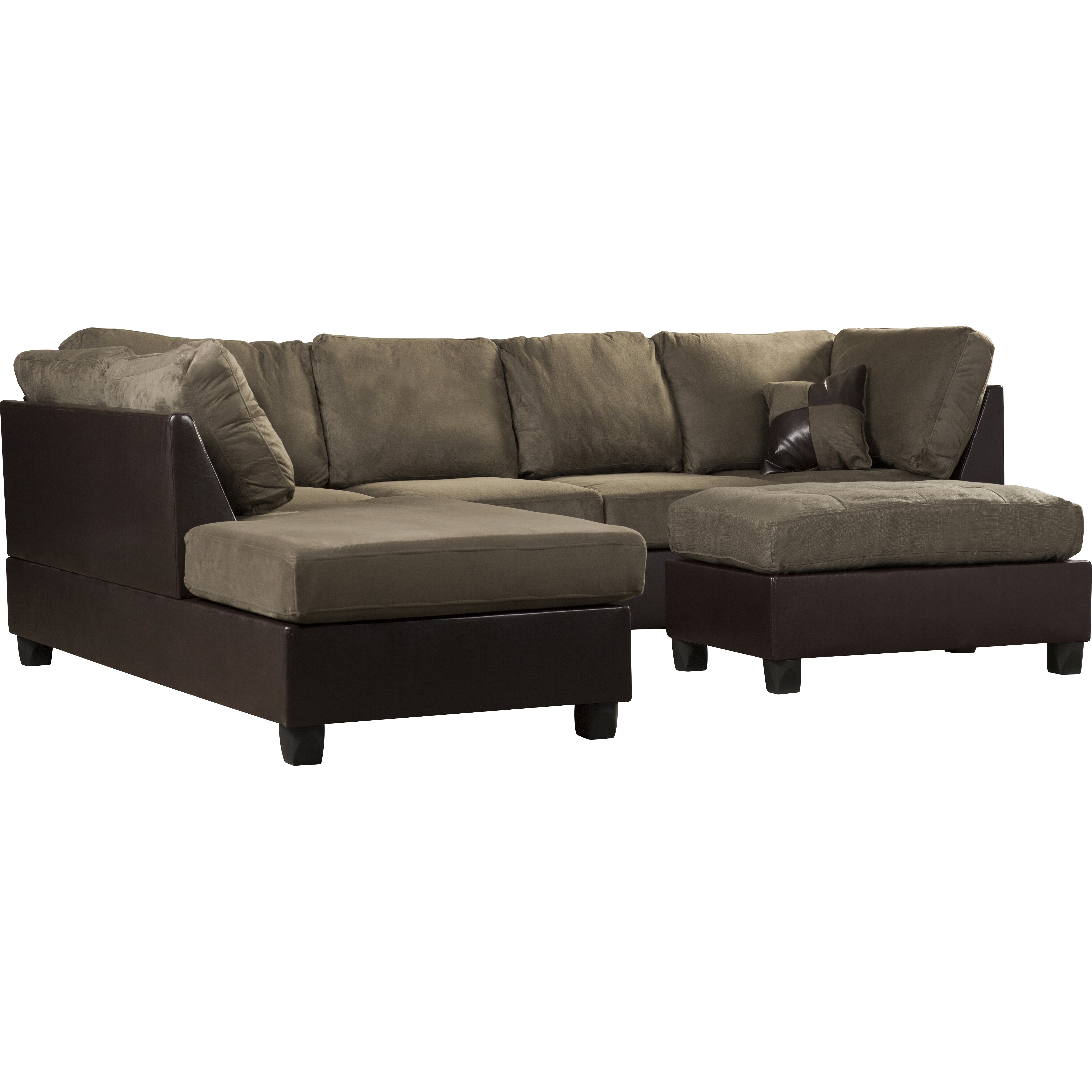 Andover Mills Corporate 112 Reversible Chaise Sectional