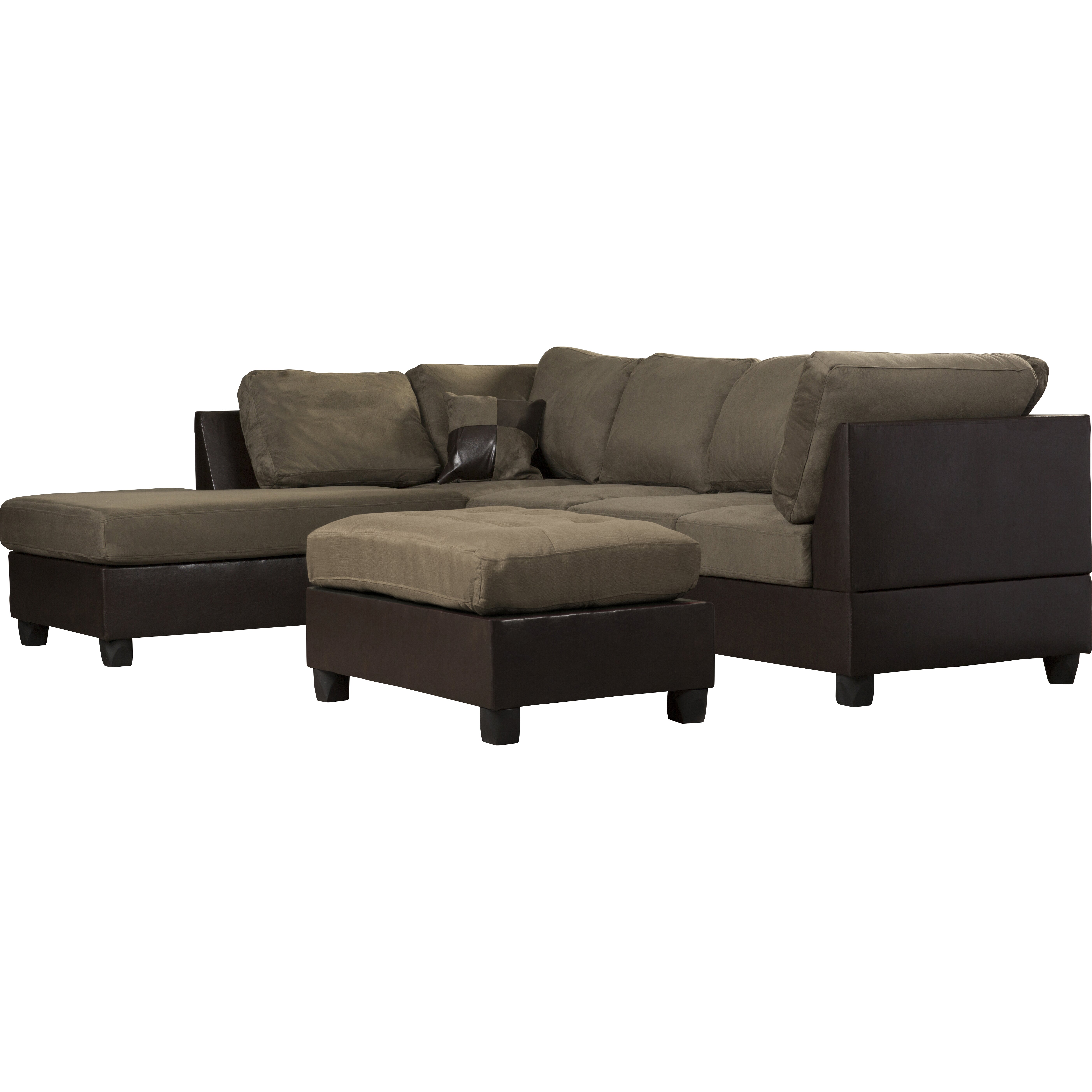 Reversible sectional sofa chaise andover mills corporate for Alexander sectional sofa chaise
