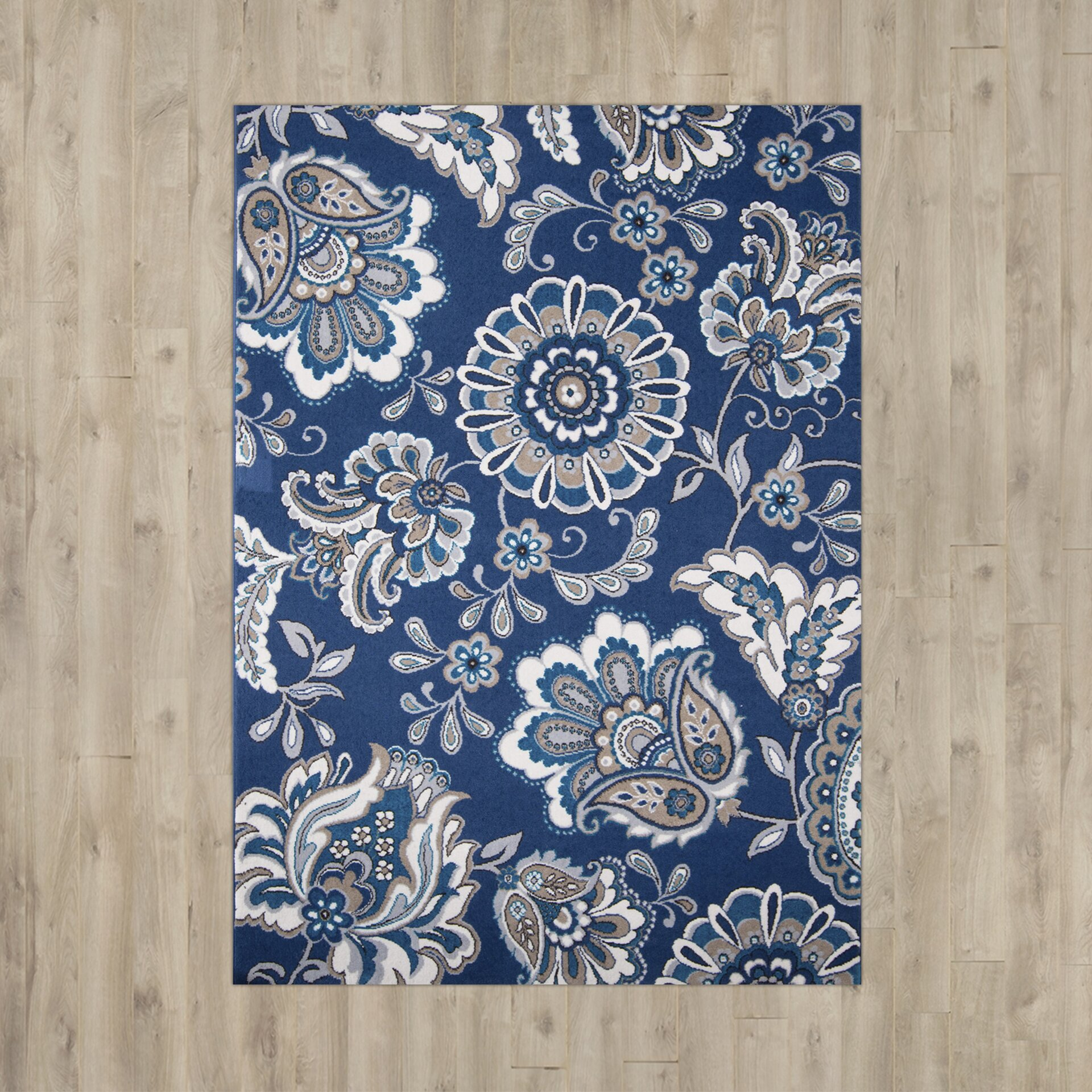 8x10 Area Rugs Wayfair: Andover Mills Tremont Blue Area Rug & Reviews
