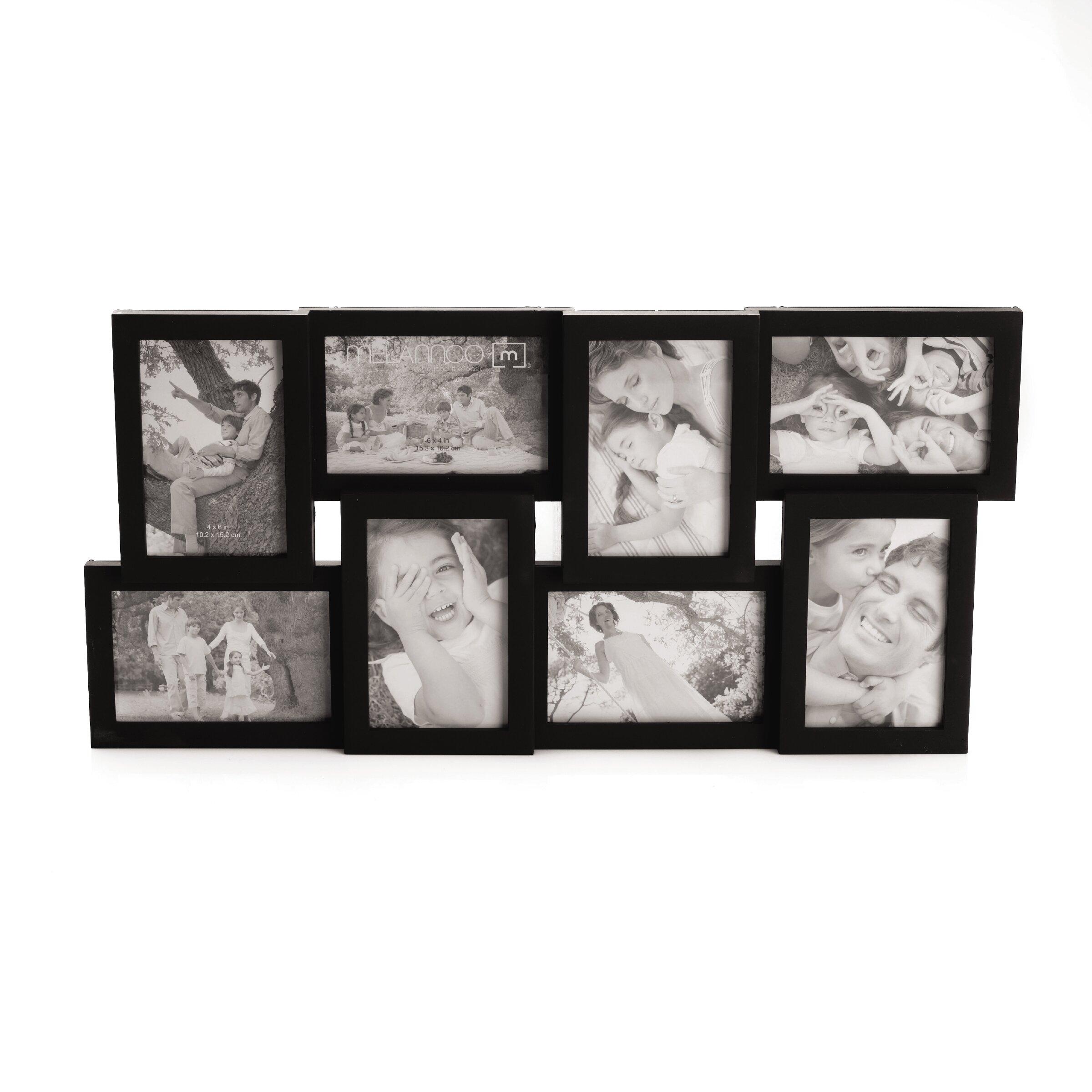 andover mills 8 opening collage frame. Black Bedroom Furniture Sets. Home Design Ideas