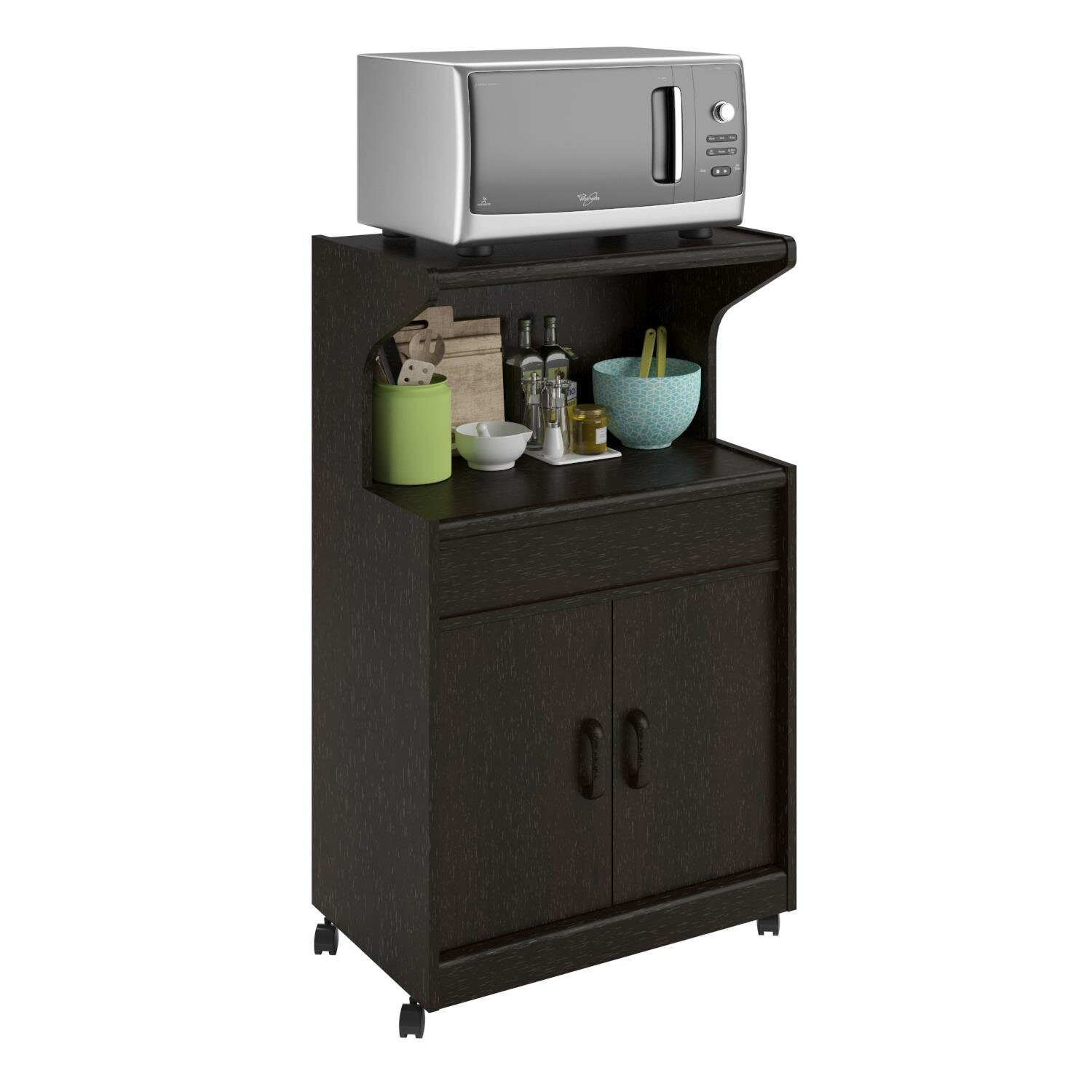 Andover Mills Howland Microwave Cart & Reviews