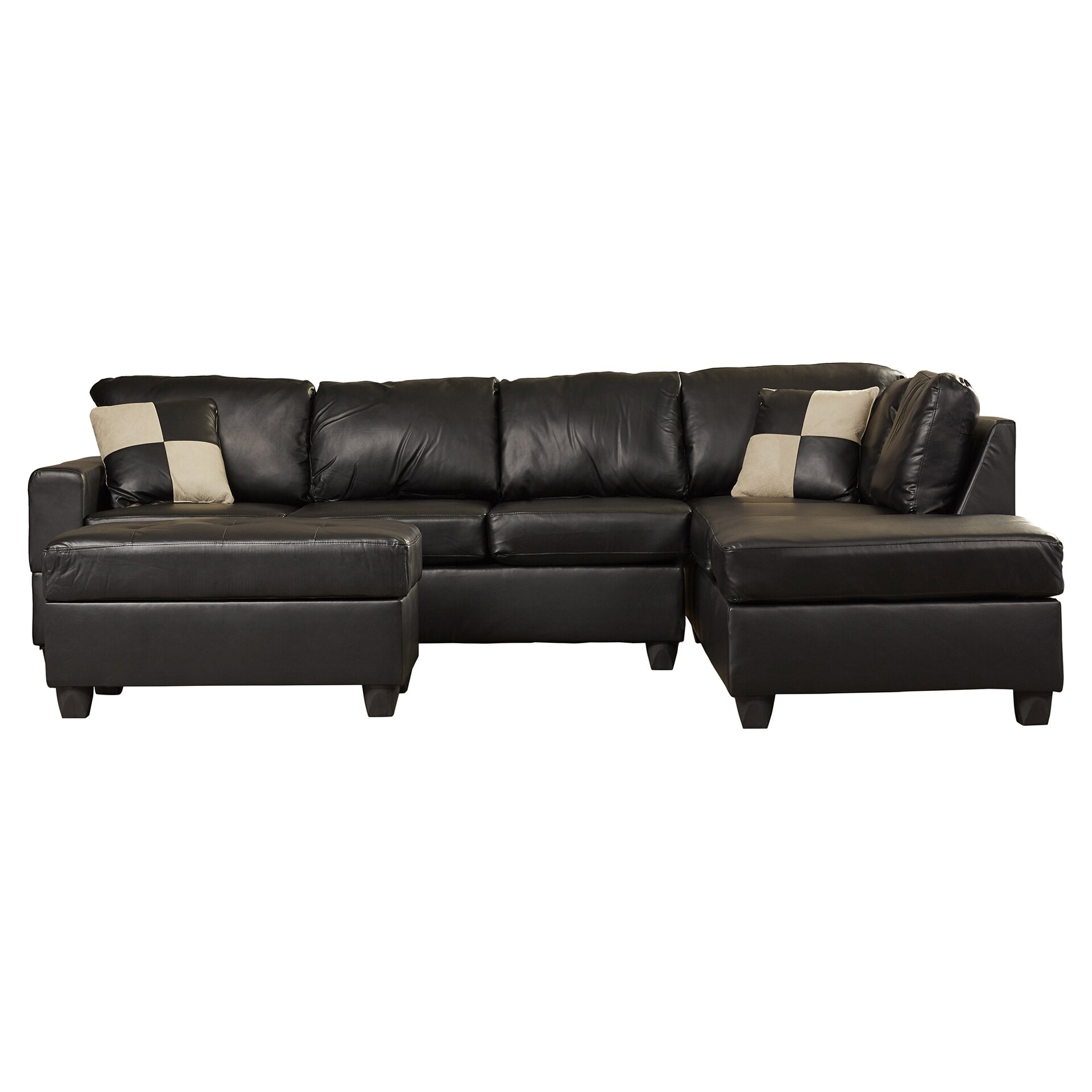Century Leather Sofa Reviews picture on Andover Mills® Corporate 5 Piece Bonded Bonded Leather Sectional Sofa ANDO4344 with Century Leather Sofa Reviews, sofa 9e4502a743dfacc78c1a9f8c14506b60