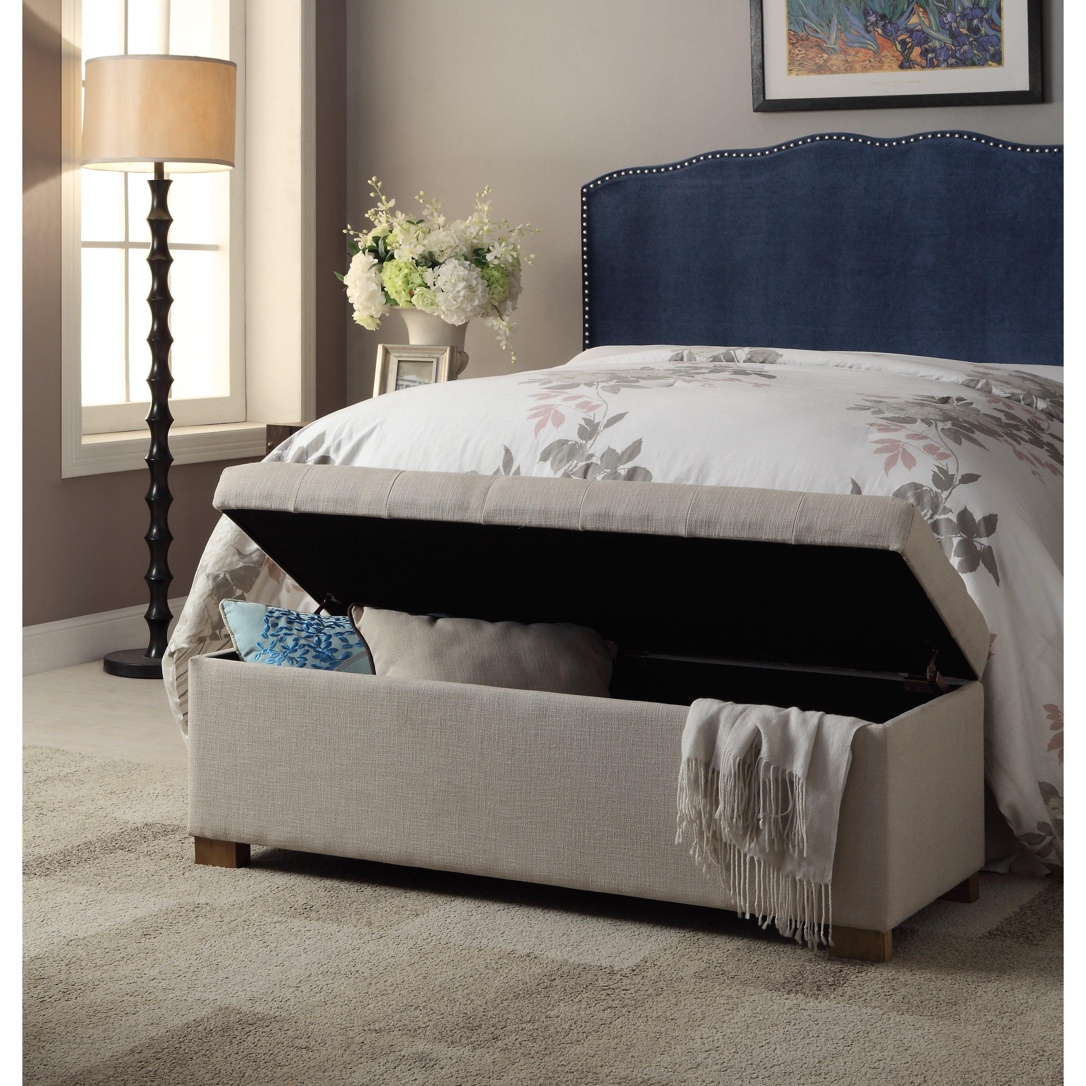 andover mills ravenwood wood storage bedroom bench reviews. Black Bedroom Furniture Sets. Home Design Ideas