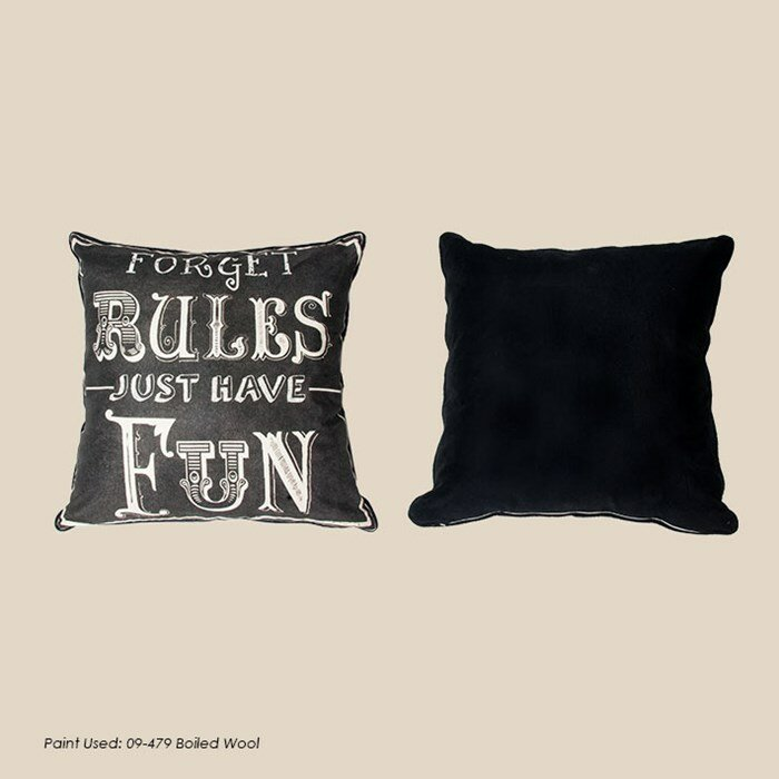 Graham & Brown Forget Rules Cotton Throw Pillow & Reviews Wayfair
