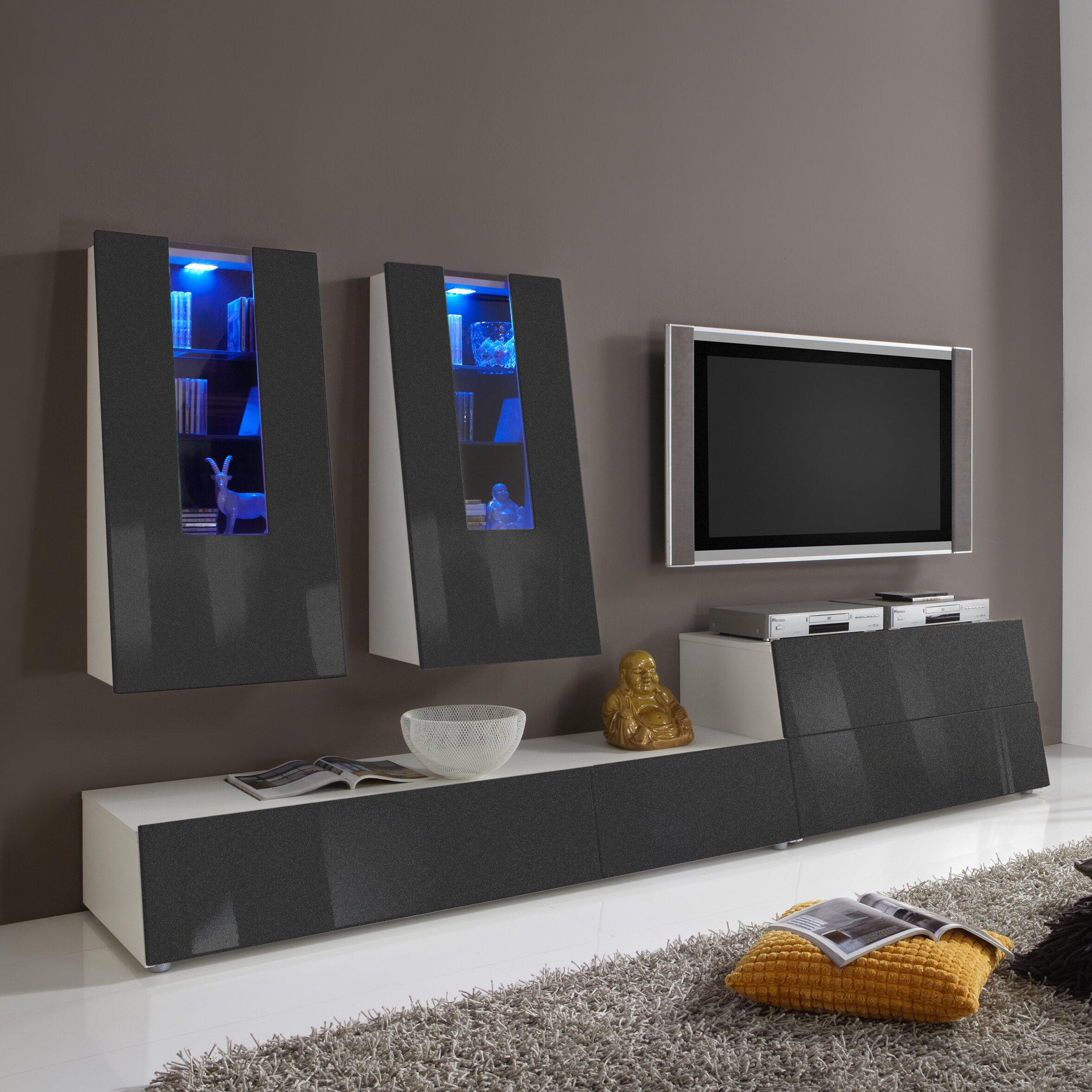 Caracella wohnwand gala reviews von manufacturer for Schlafsofa york von caracella