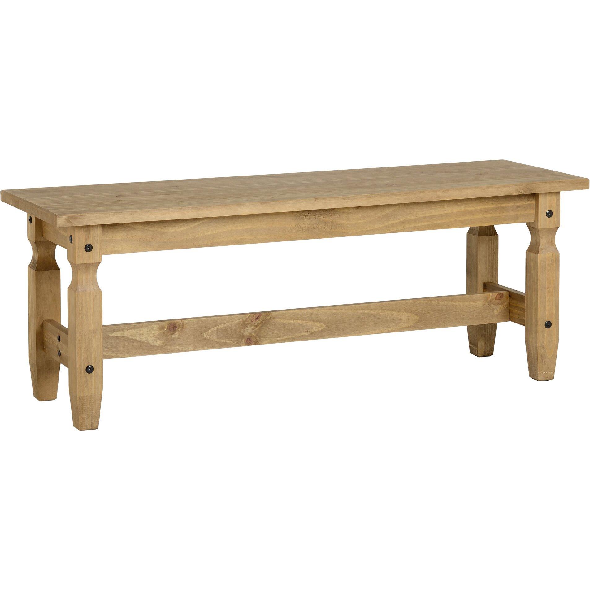 Andover Mills Corona Wood Kitchen Bench & Reviews