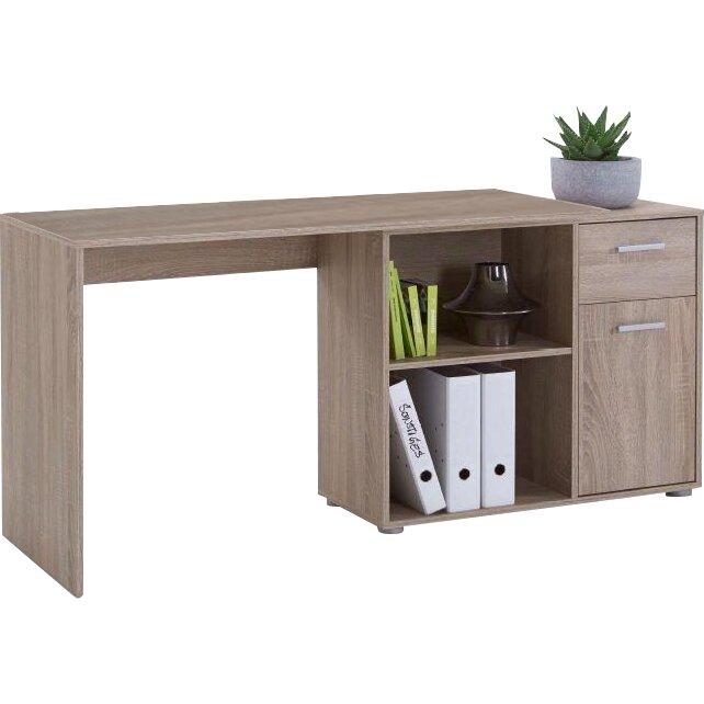 dcor design schreibtisch jeffery mit schublade. Black Bedroom Furniture Sets. Home Design Ideas
