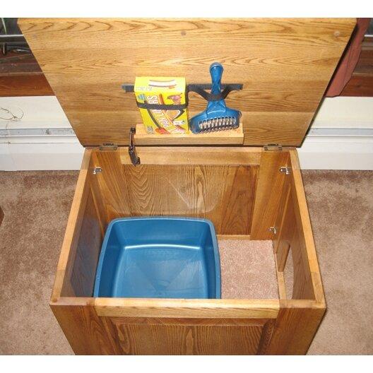 Classic Pet Beds Raised Panel Litter Box Concealment