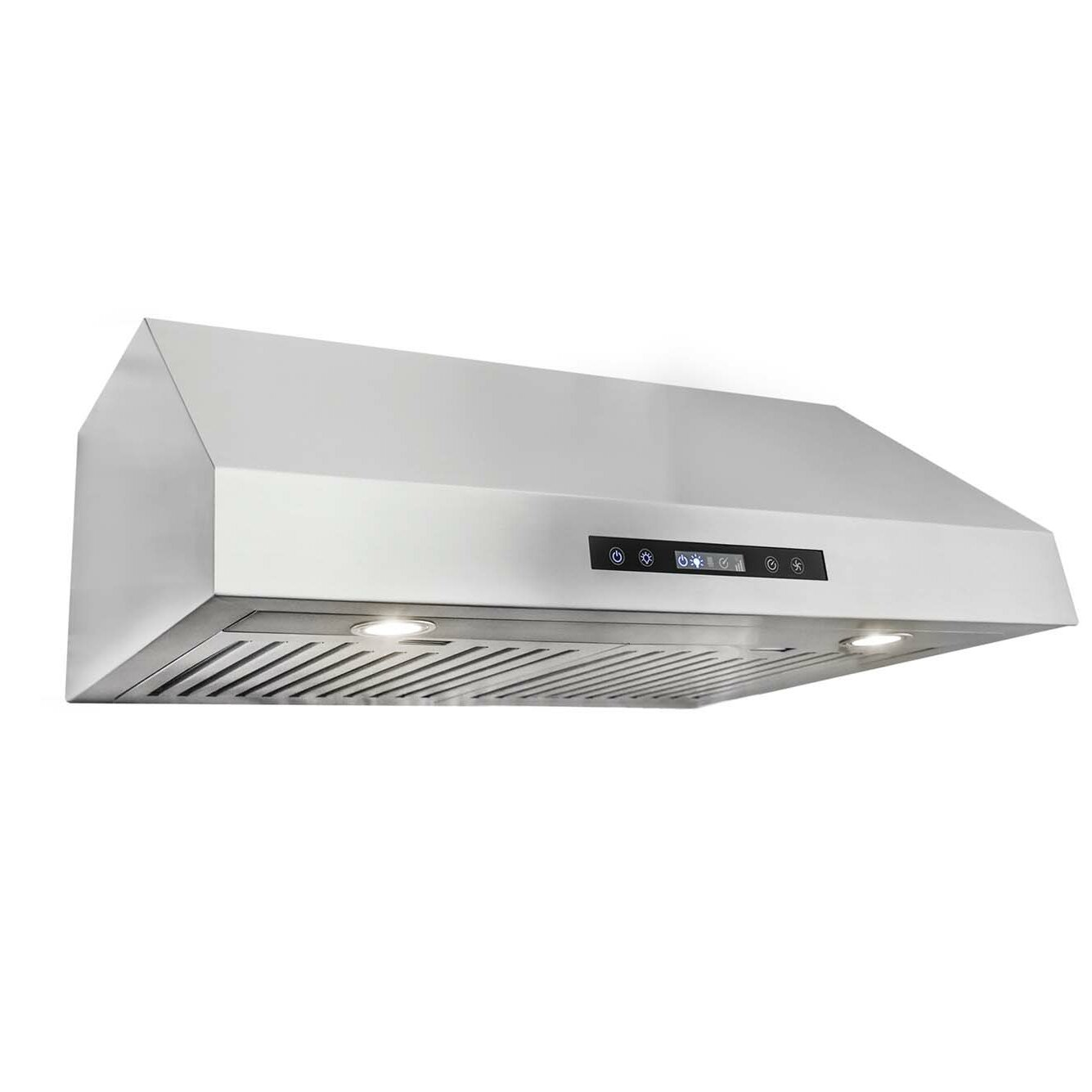 Cosmo 30 750 Cfm Ducted Under Cabinet Range Hood In