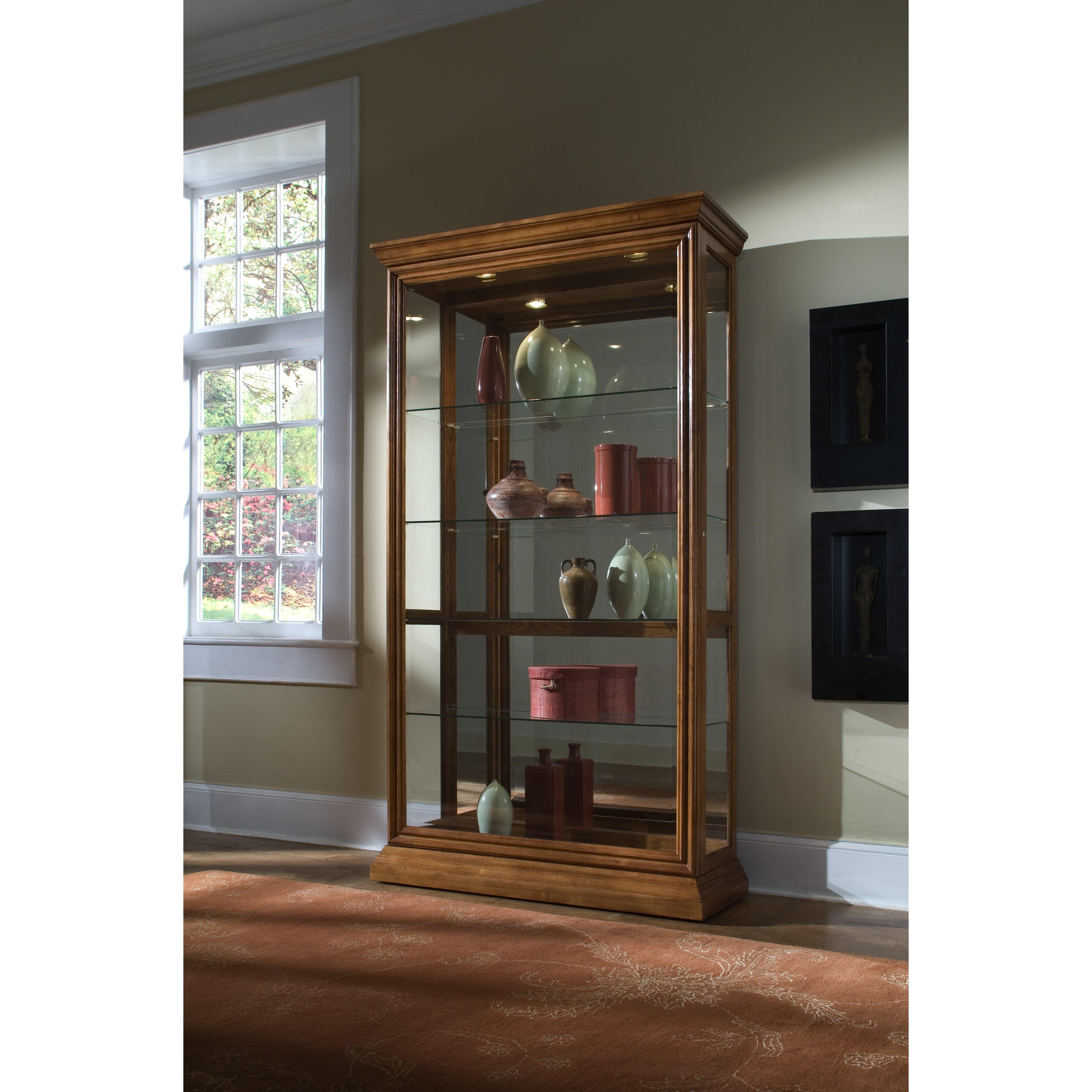 Pulaski keepsakes curio cabinet reviews wayfair supply for Pulaski furniture