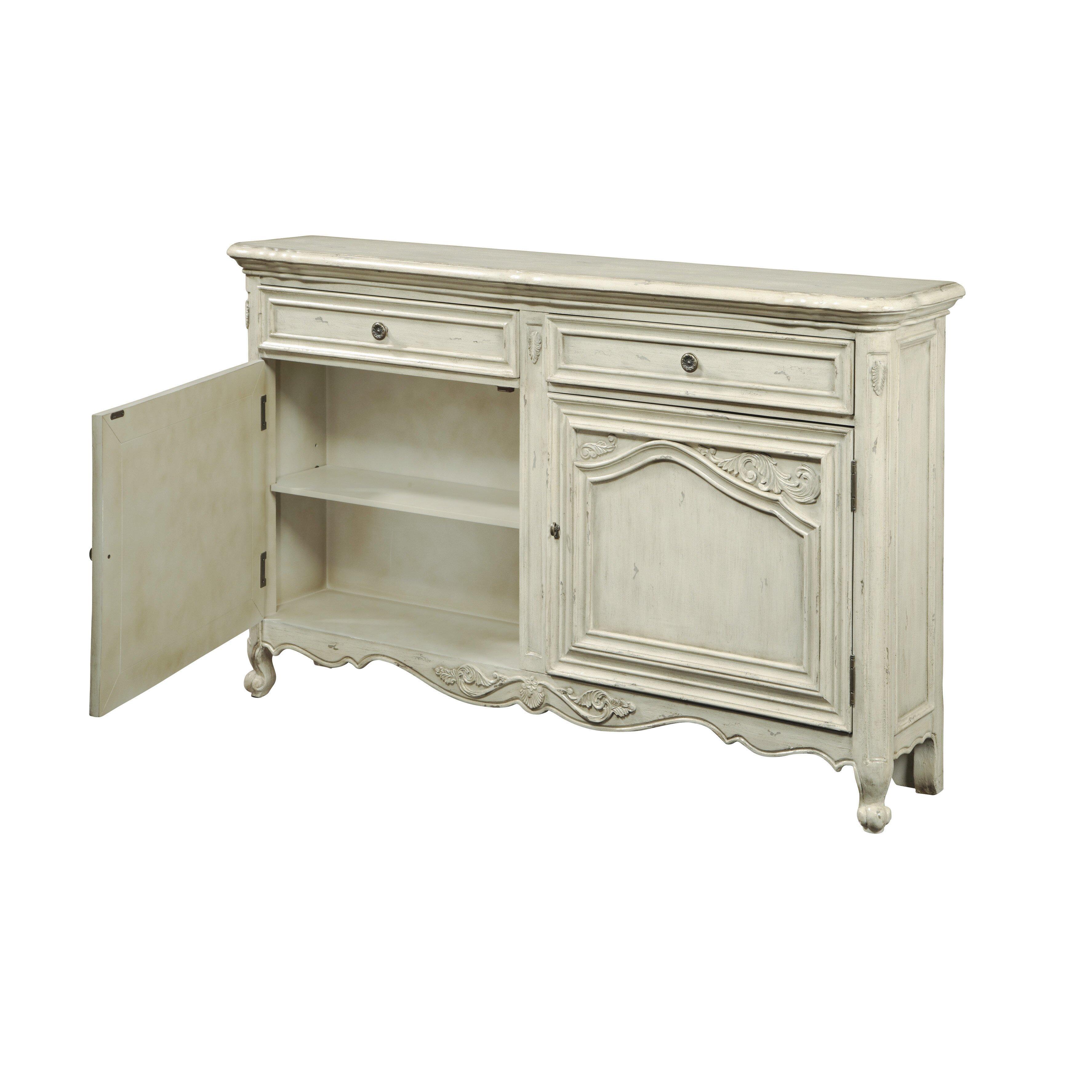 Pulaski console cabinet reviews wayfair for Pulaski furniture