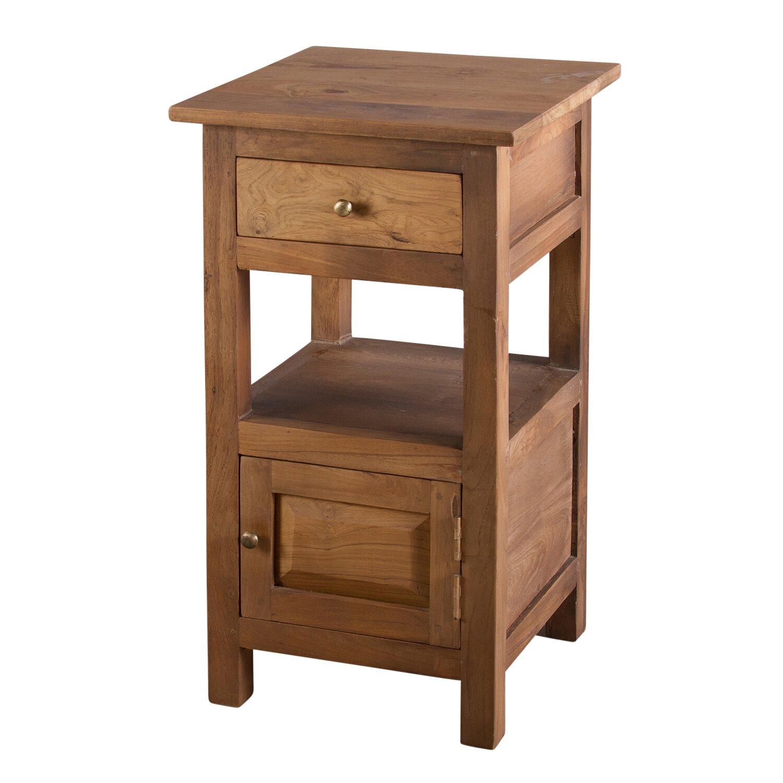 Urban designs tanya 1 drawer bedside table wayfair uk for 1 drawer table
