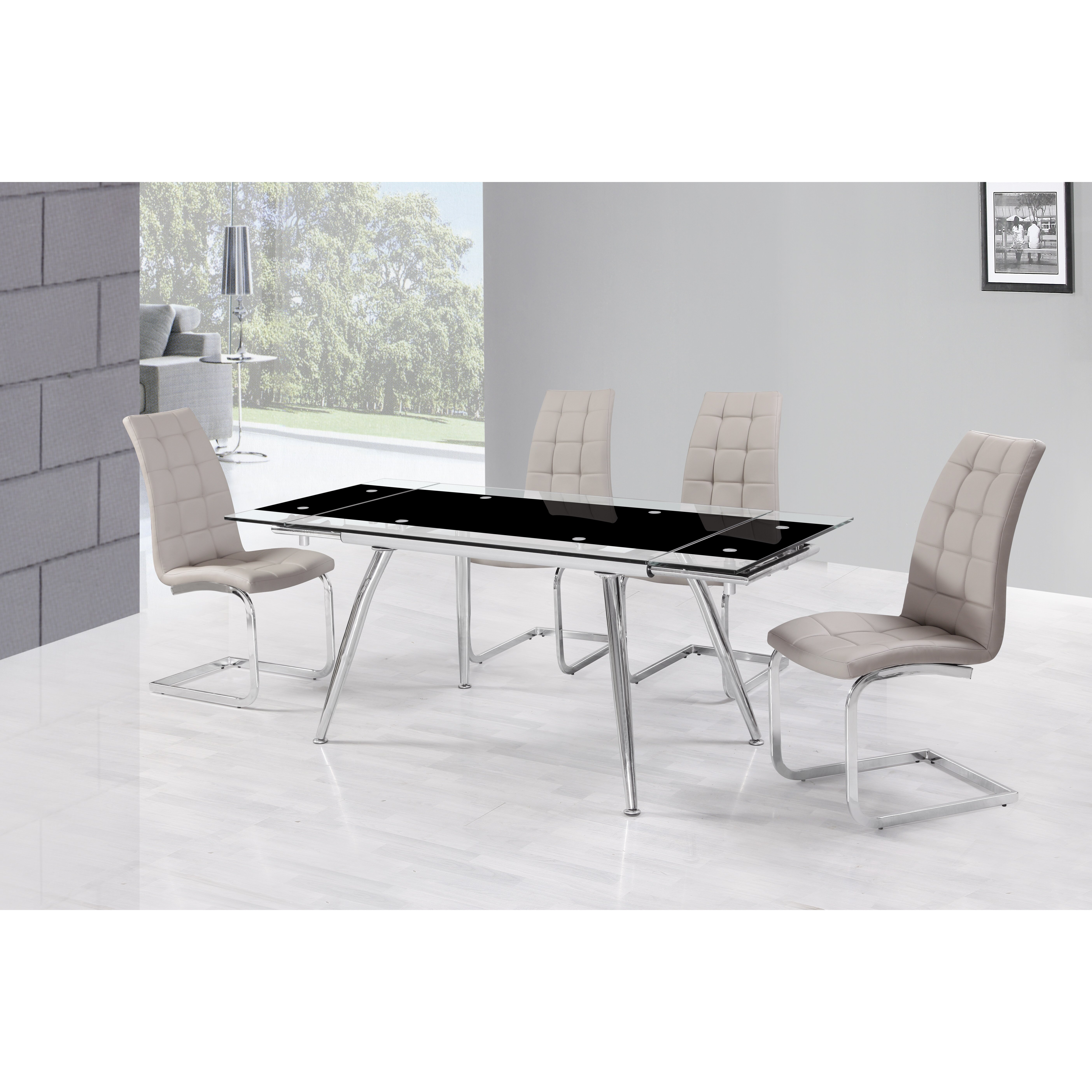 Urban Designs Micha Extendable Dining Table amp Reviews  : Urban Designs Micha Extendable Dining Table from www.wayfair.co.uk size 5616 x 5616 jpeg 3295kB