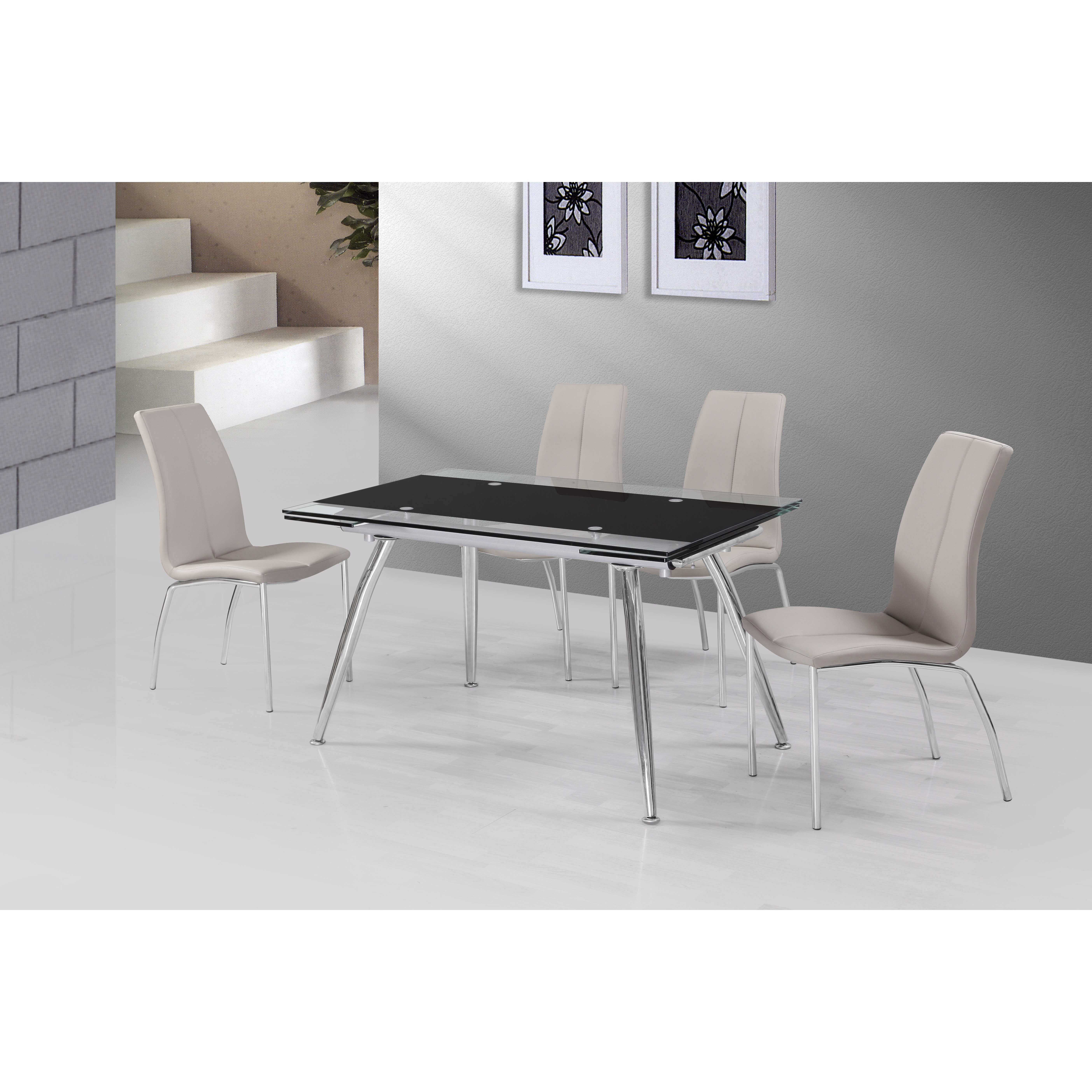 Urban Designs Micha Extendable Dining Table amp Reviews  : Urban Designs Micha Extendable Dining Table from www.wayfair.co.uk size 5616 x 5616 jpeg 3527kB