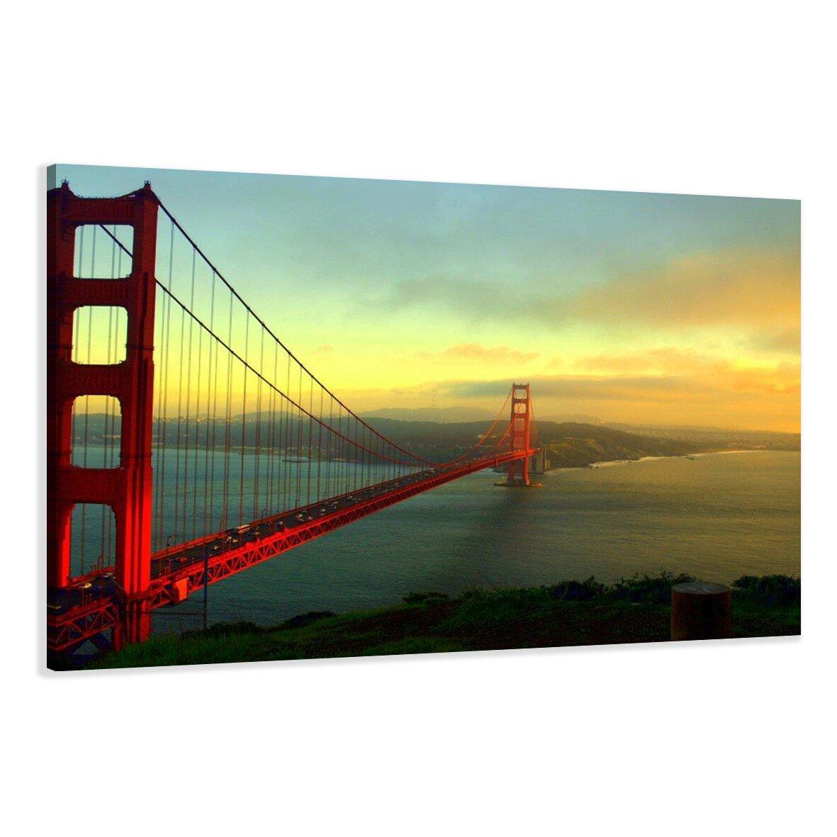 Urban Designs Golden Gate Bridge Photographic Print