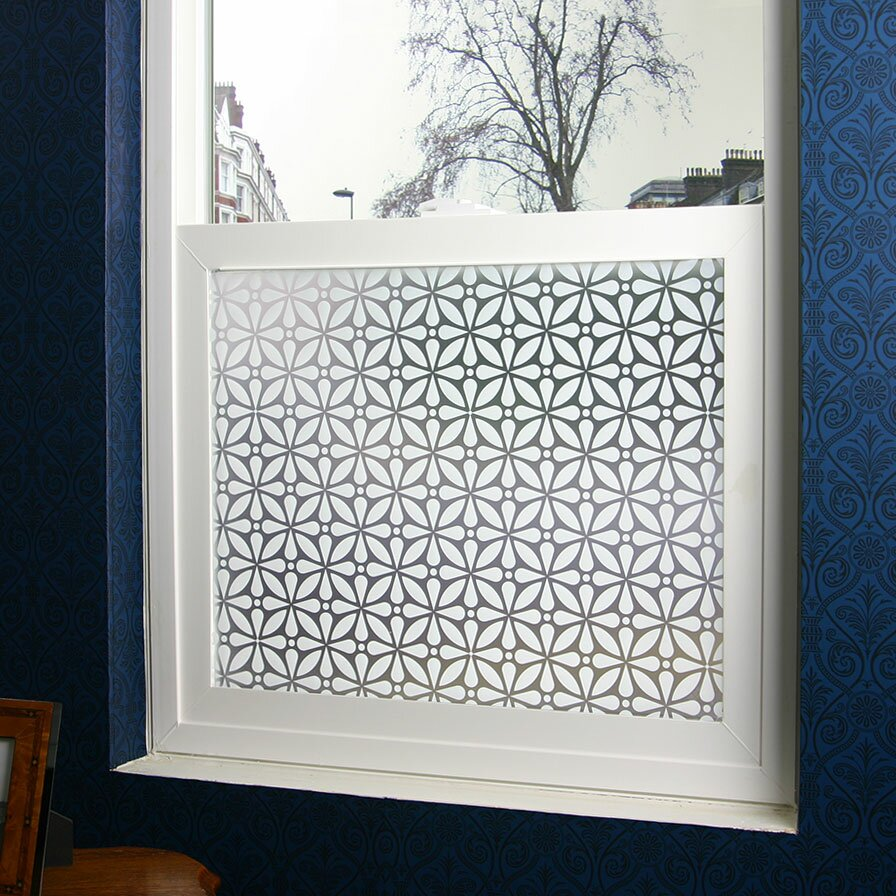 odhams press geo privacy window film reviews wayfair. Black Bedroom Furniture Sets. Home Design Ideas
