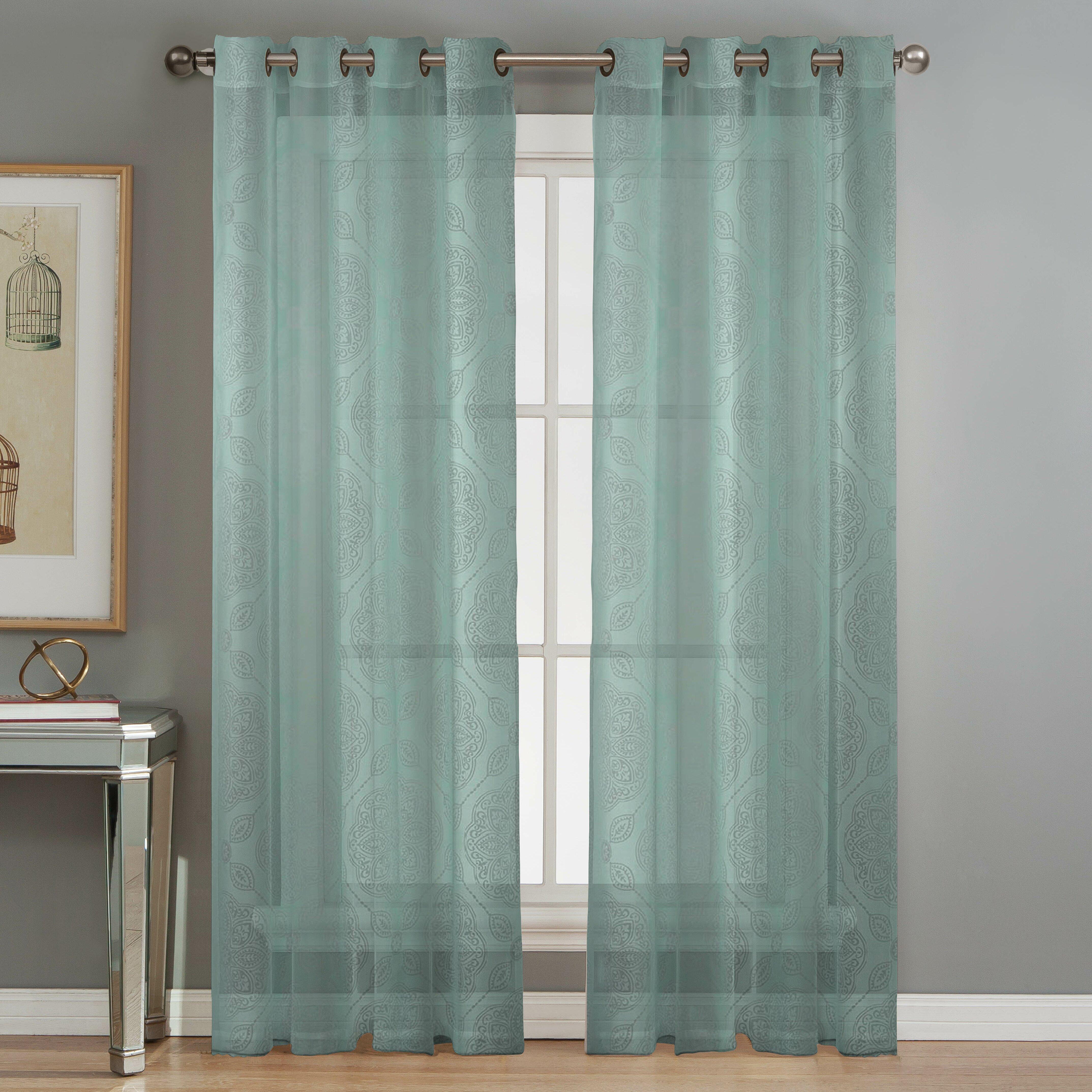 Burnout Curtains Window Elements ...