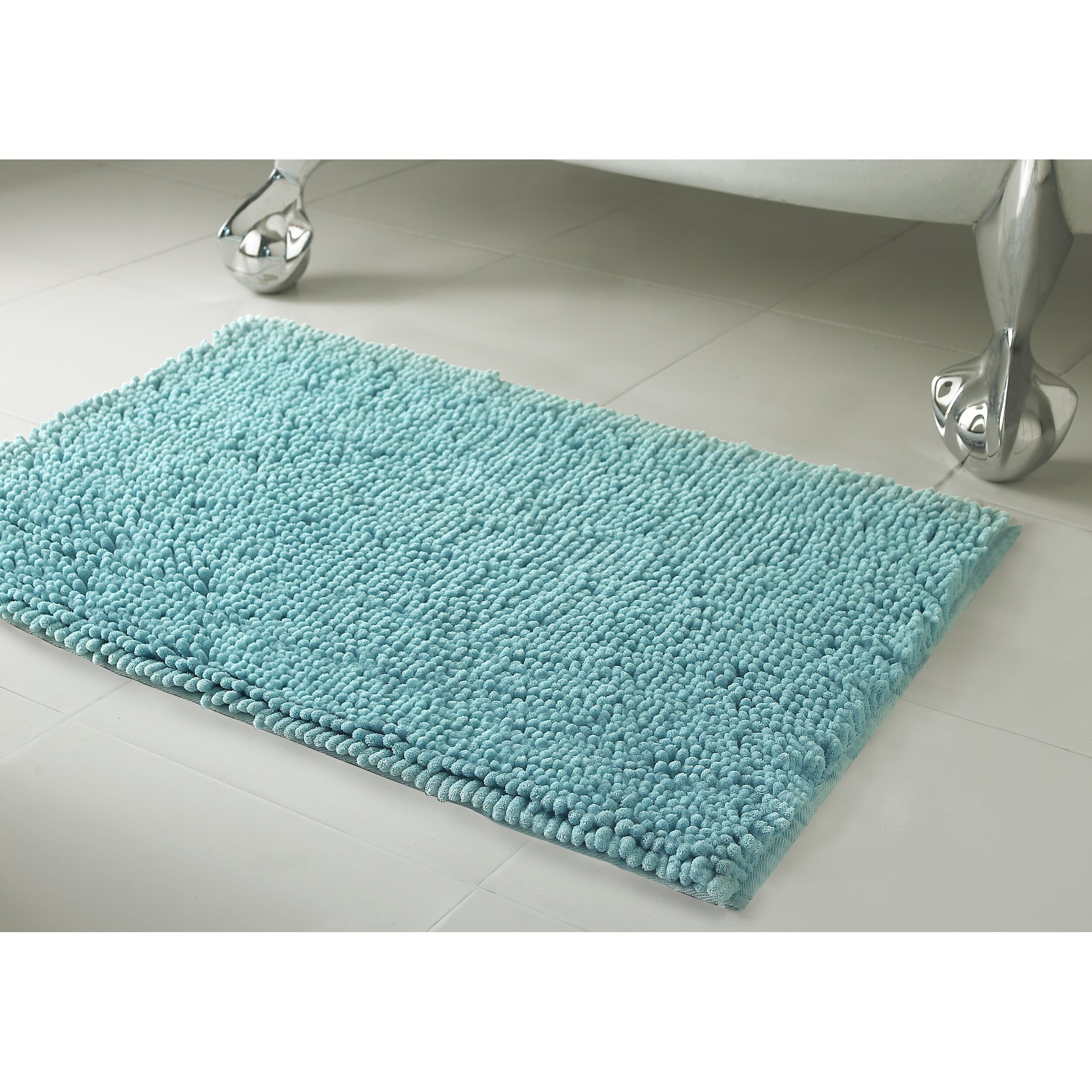 Resort Collection Chenille Plush Large 2 Piece Bath Mat