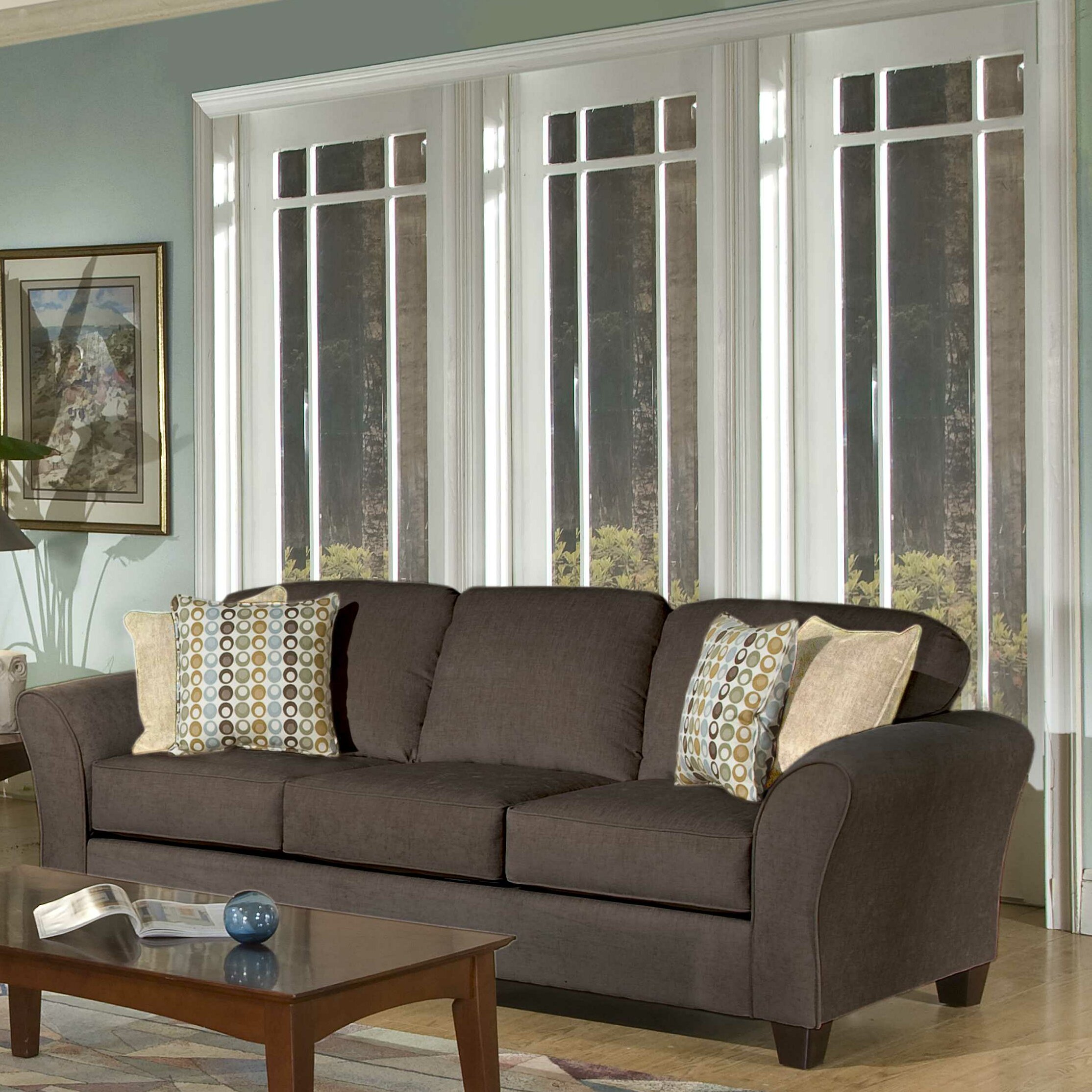 Three posts serta upholstery franklin sofa reviews wayfair ca