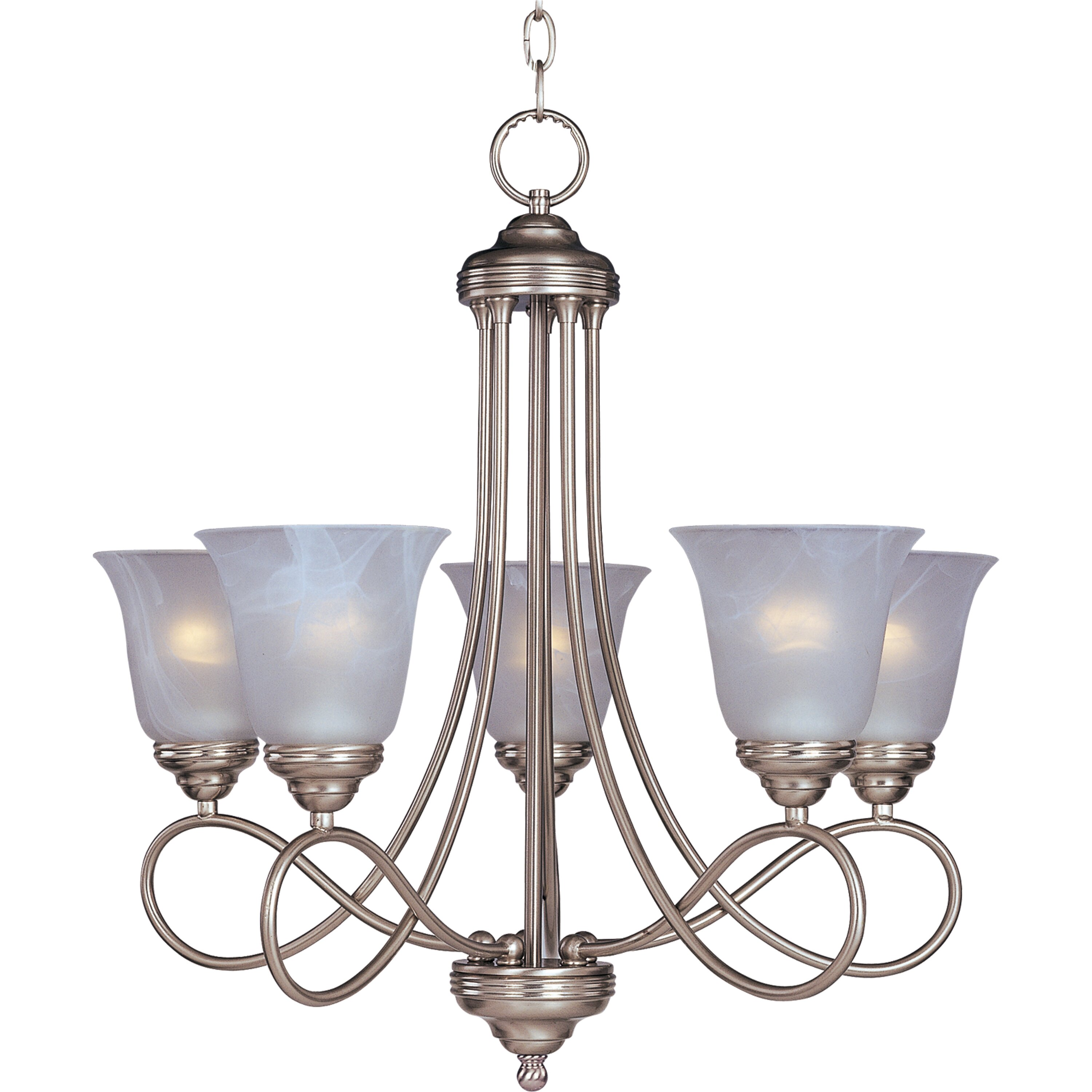 Three Posts Norwood 5 Light Shaded Chandelier & Reviews