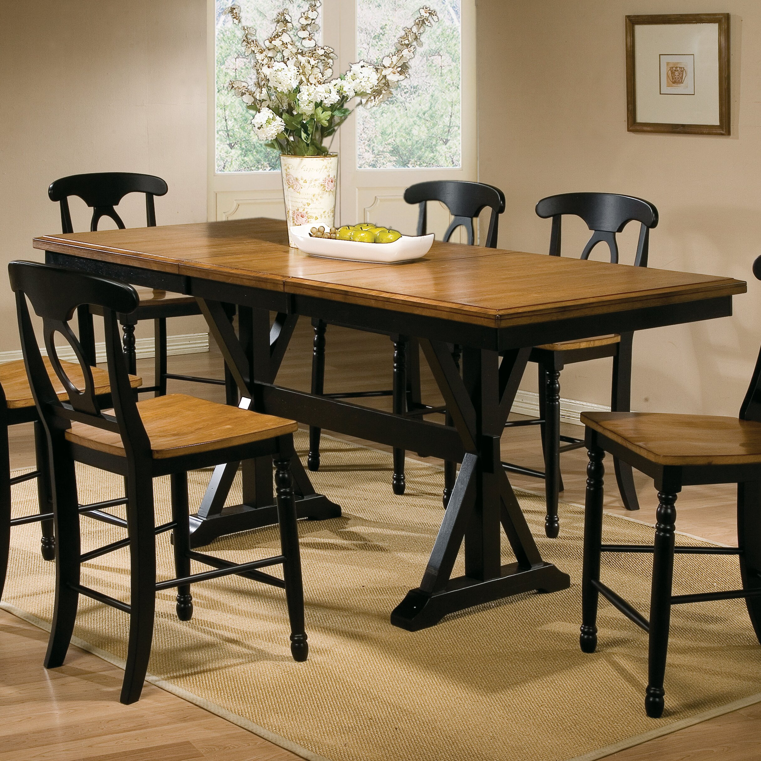 Counter Height Dining Tables: Three Posts Courtdale Counter Height Dining Table
