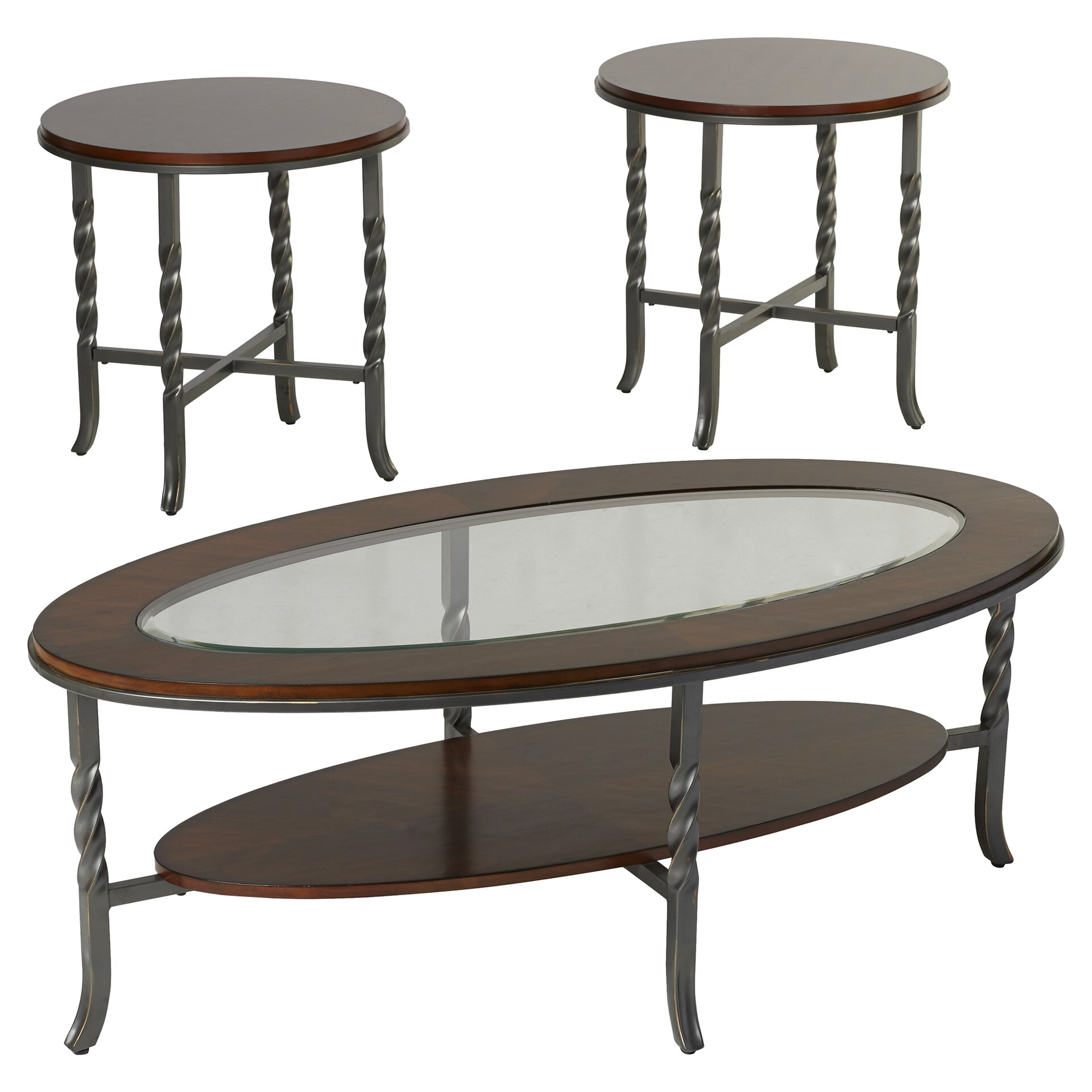 Three Posts Vance 3 Piece Coffee Table Set & Reviews