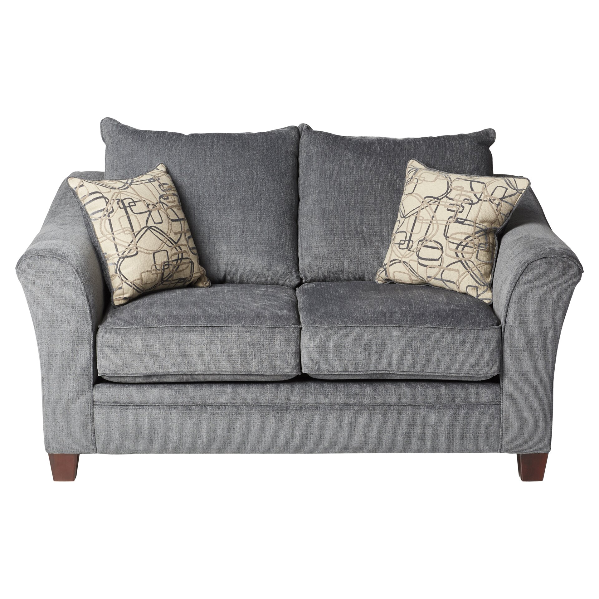 Three Posts Simmons Upholstery Derry Loveseat Reviews Wayfair