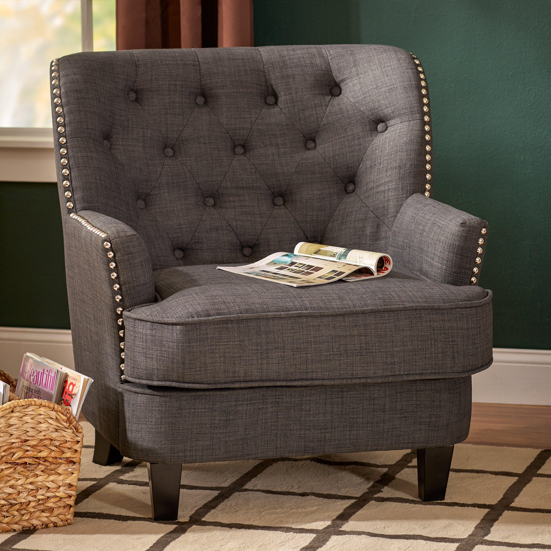 Three Posts Porter Tufted Club Chair Amp Reviews Wayfair