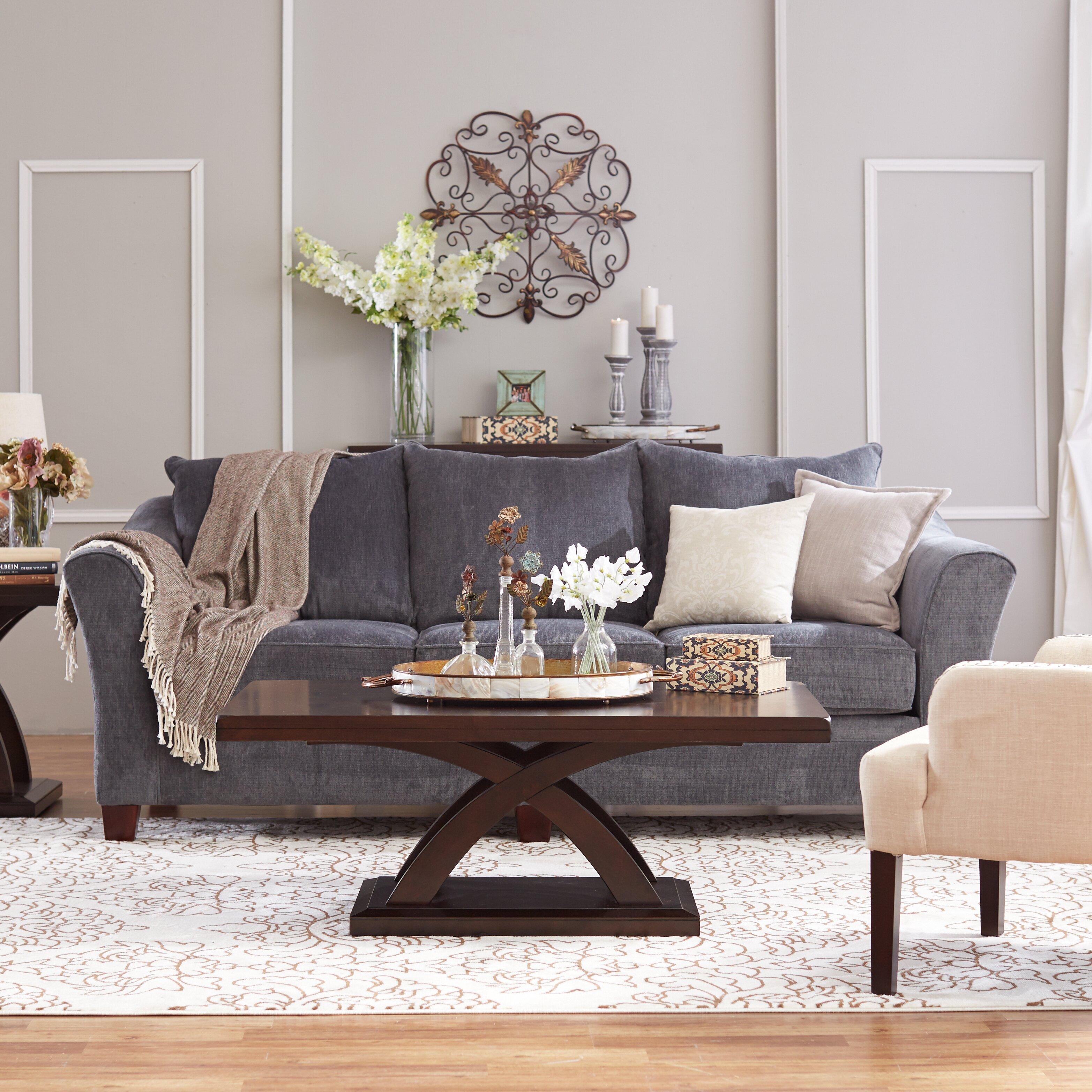 Three posts heidelberg coffee table reviews wayfair for Sofa heidelberg