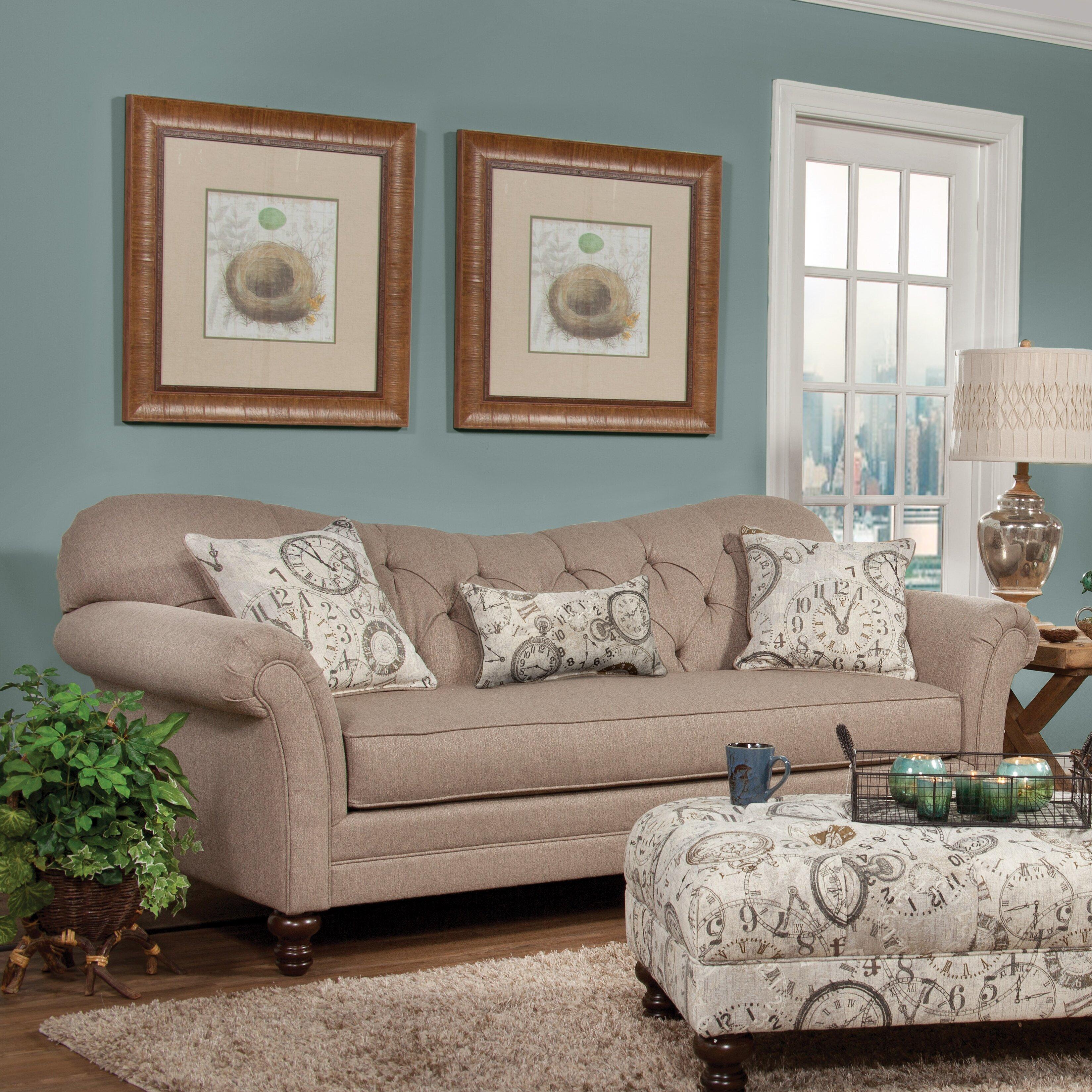Three Posts Serta Upholstery Wheatfield Sofa & Reviews | Wayfair