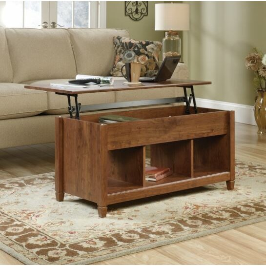 Lamantia Coffee Table with Lift Top THRE3592 Edge Water Coffee Table With Lift Top