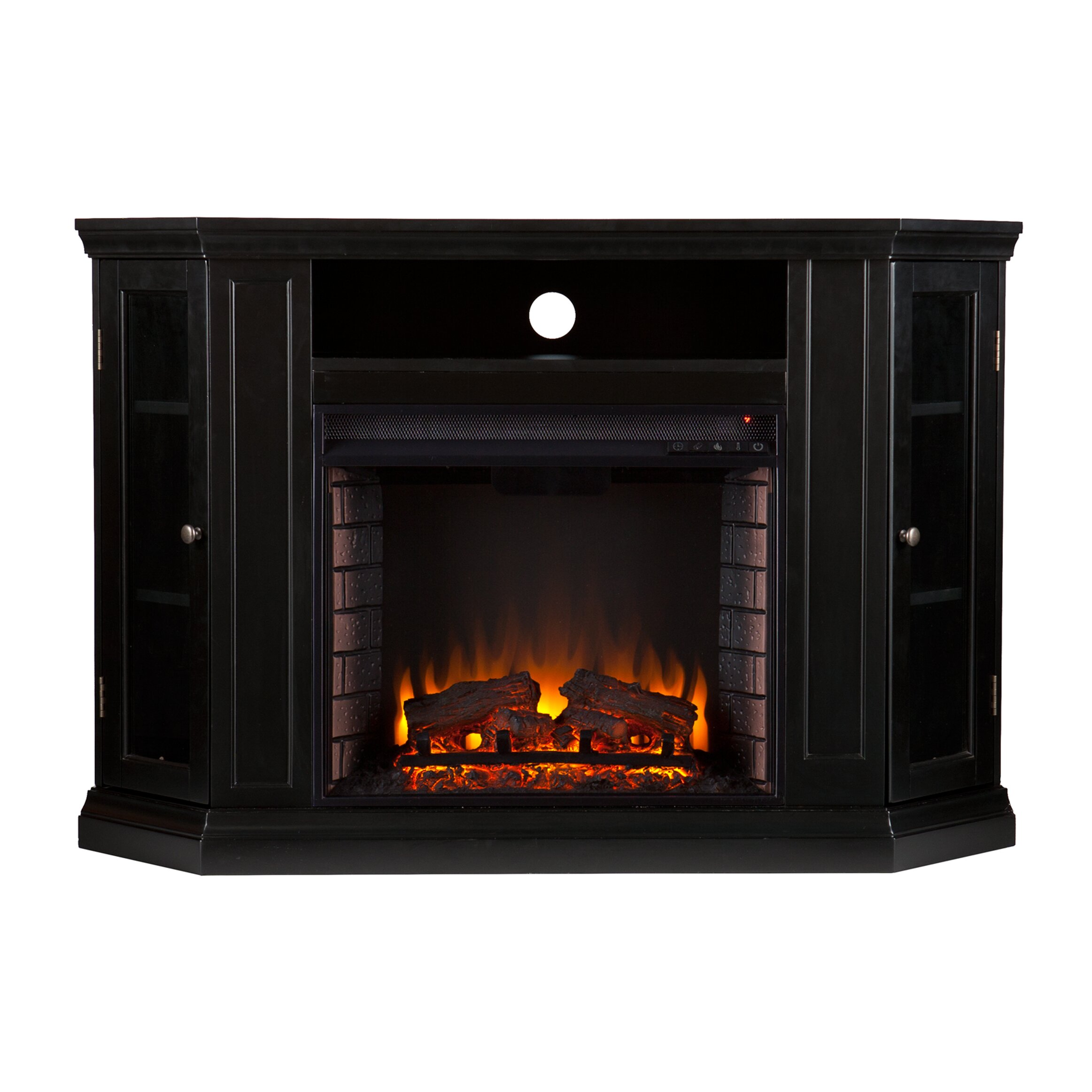 Three Posts Oyster Bay With Tv Stand Electric Fireplace Reviews Wayfair