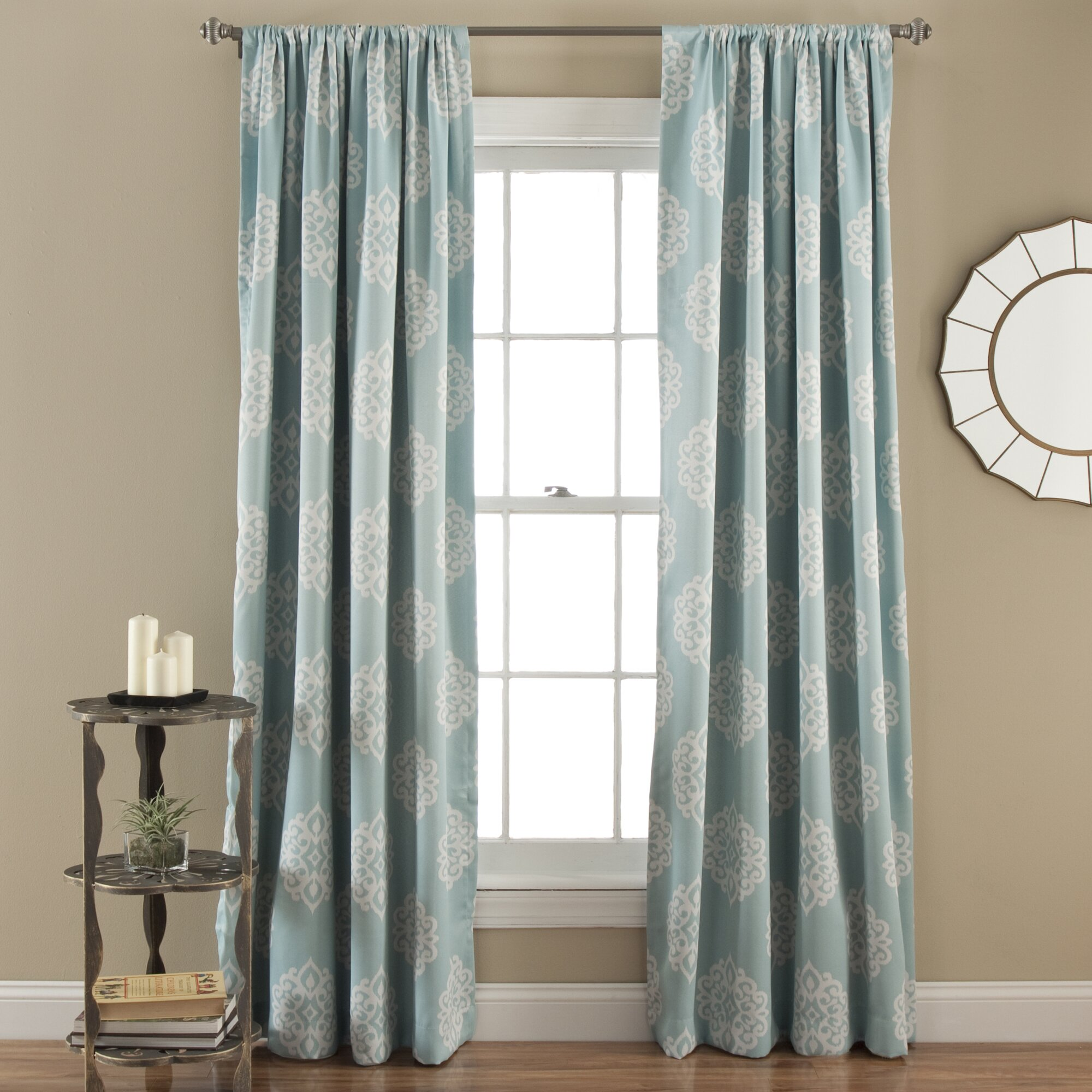 Three posts sophie rod pocket thermal blackout curtain for Where to buy drapes