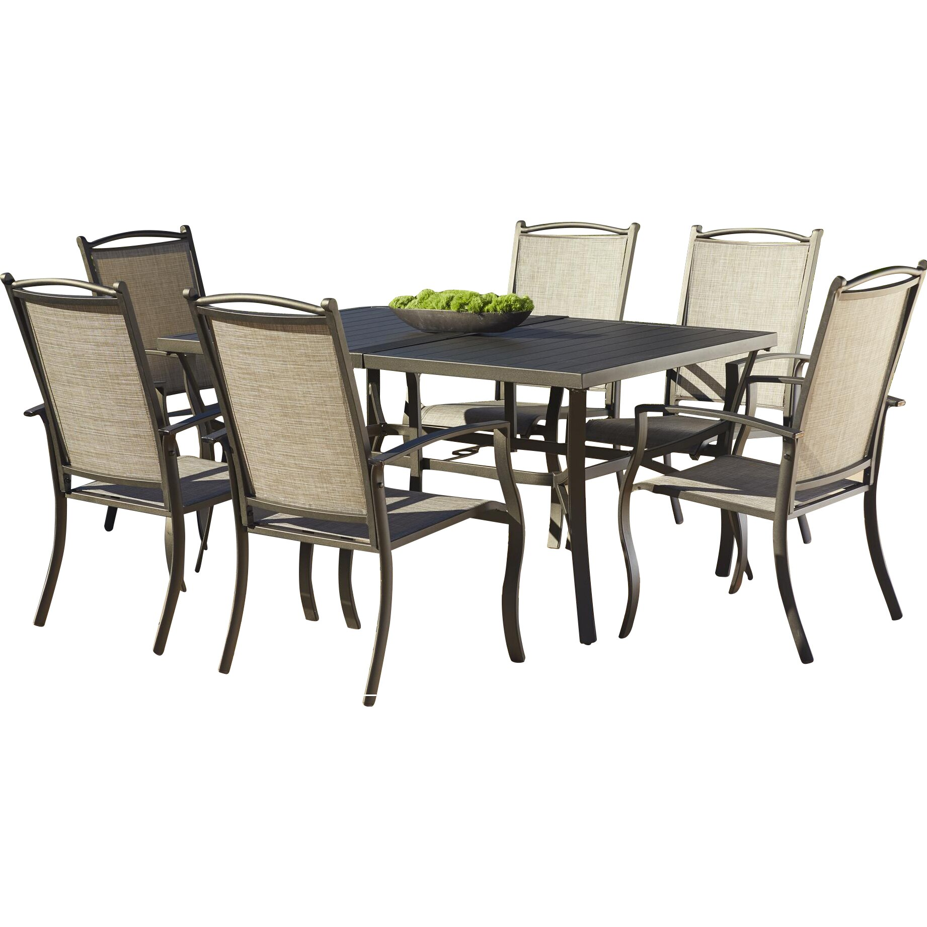 Three Posts Pavilion 7 Piece Dining Set & Reviews
