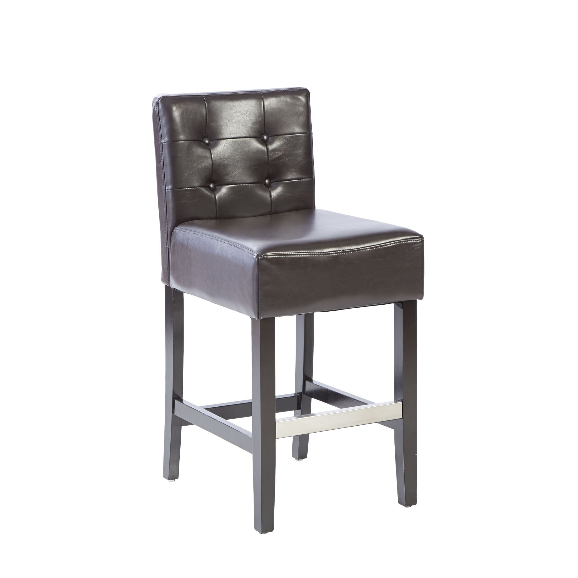 Three Posts 255quot Bar Stool amp Reviews Wayfair : Tufted 255 Bar Stool with Cushion THRE2152 from www.wayfair.com size 1920 x 1920 jpeg 108kB