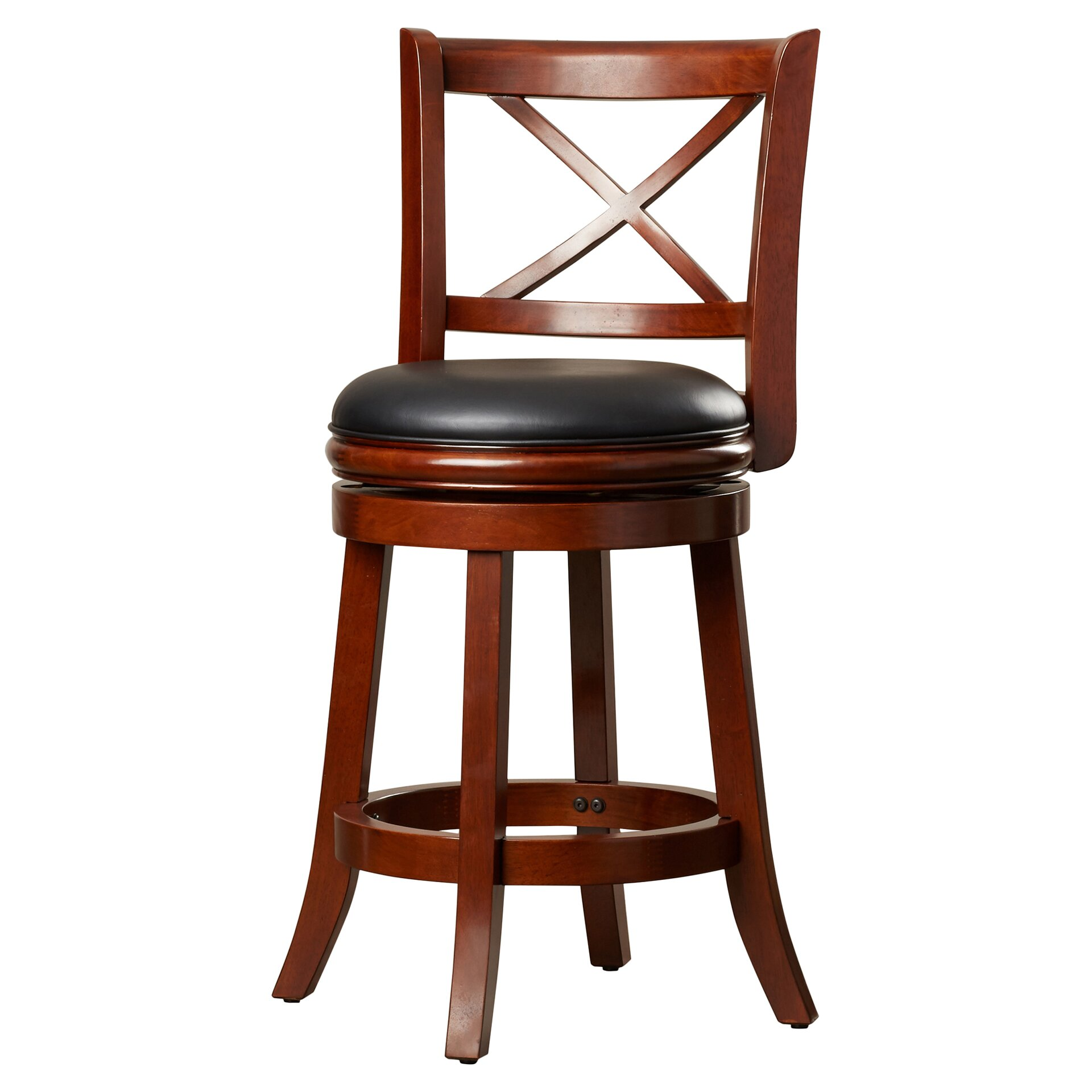 Three posts fairdale 24 swivel bar stool reviews wayfair for 24 bar stools