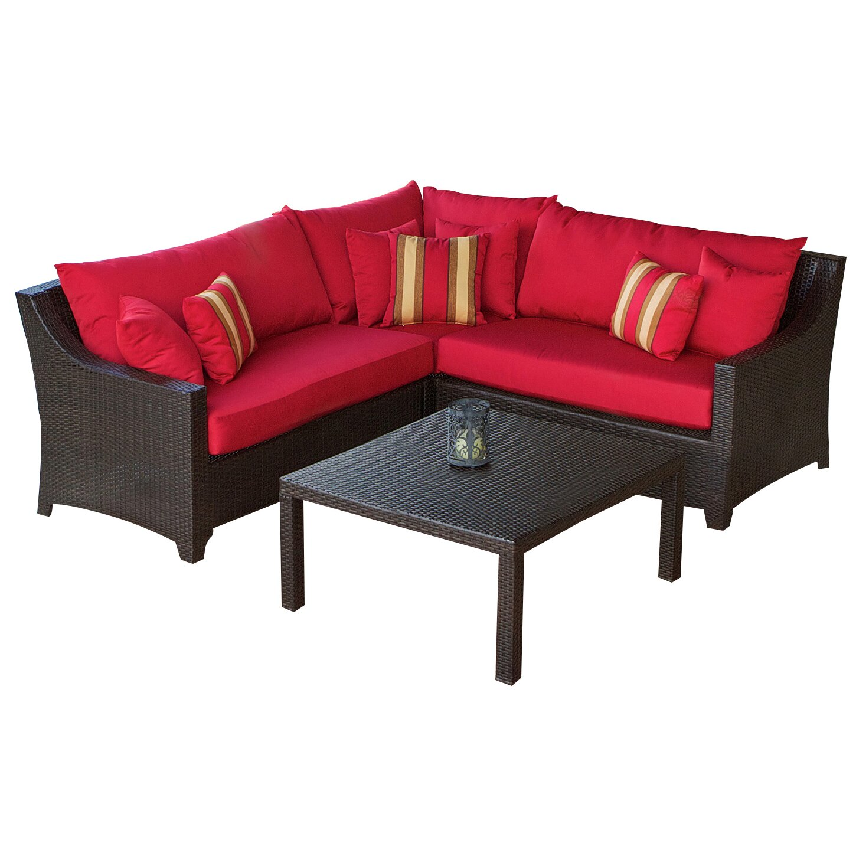Three posts northridge 2 piece sectional sofa set with for 2 piece sofa set