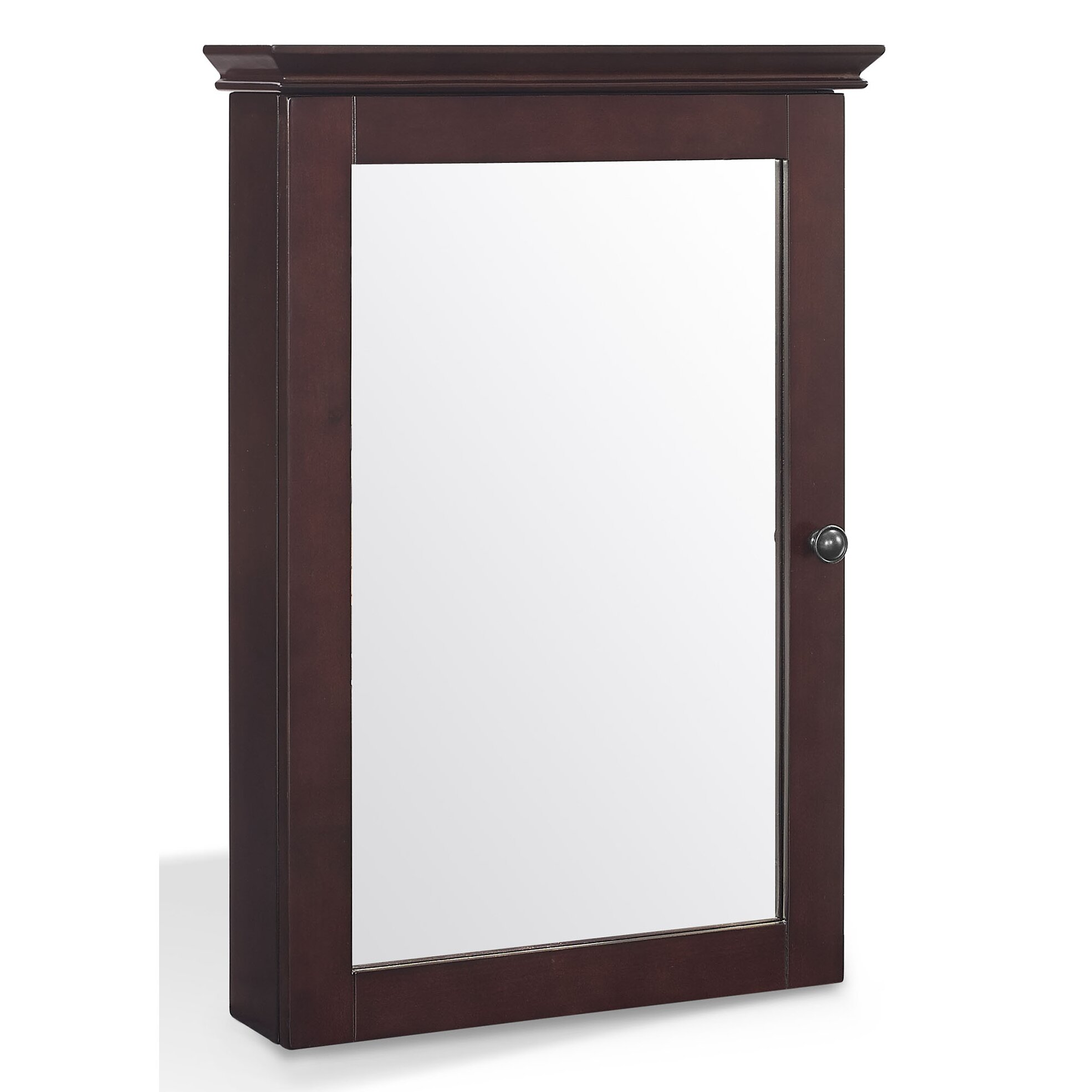 Three Posts Crenshaw 19 X 28 Mirrored Medicine Cabinet