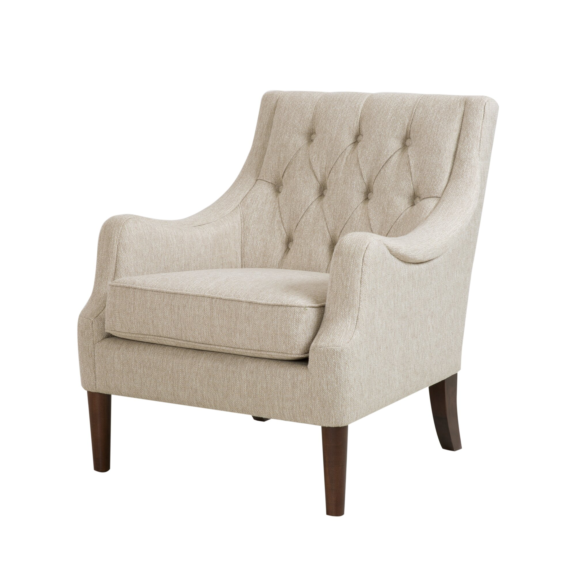 Three Posts Rogersville Button Tufted Armchair & Reviews